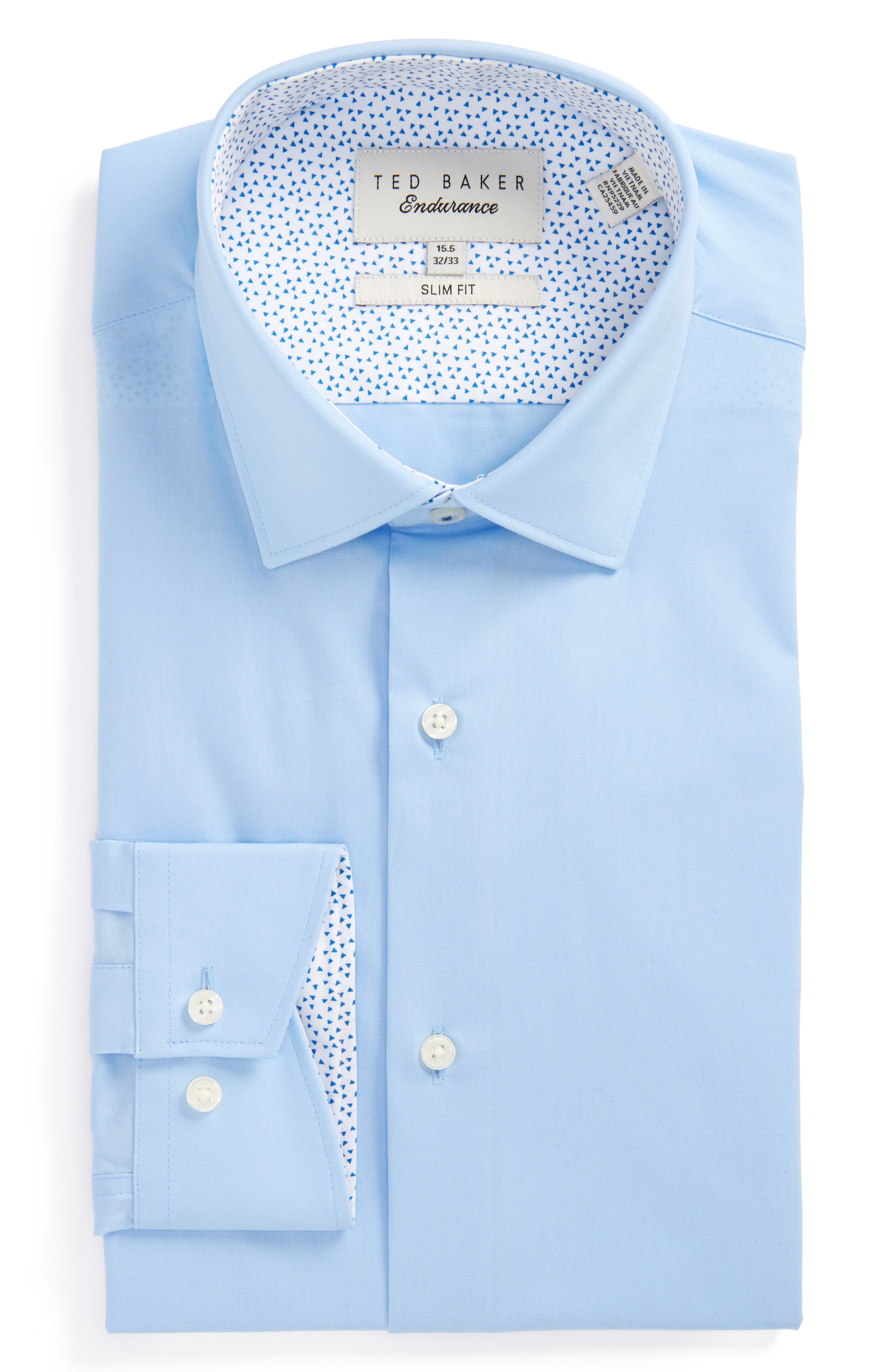 Ted Baker London Booker Slim Fit Dress Shirt