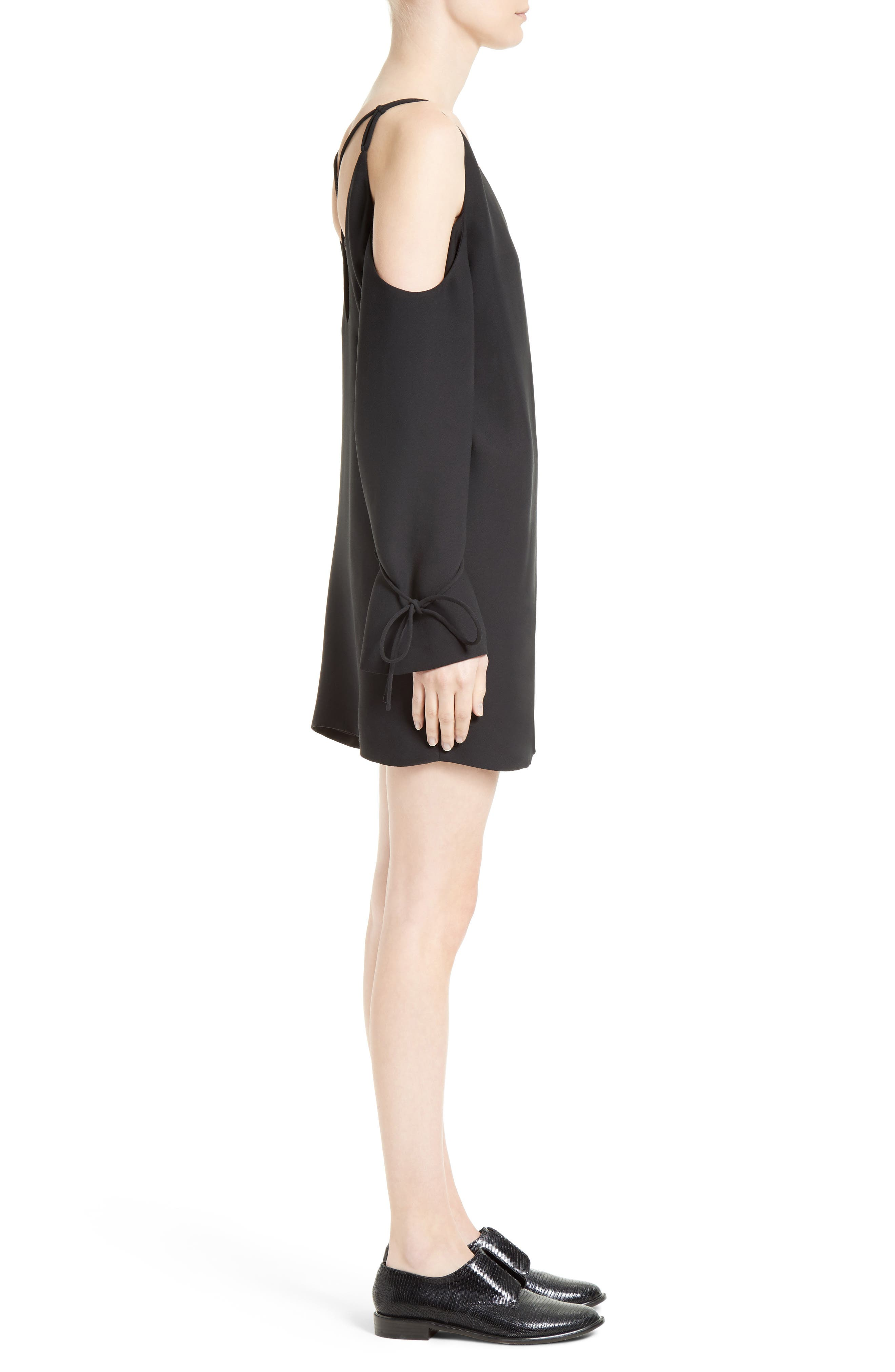 Alternate Image 3  - IRO Lebeca Surplice Cold Shoulder Dress