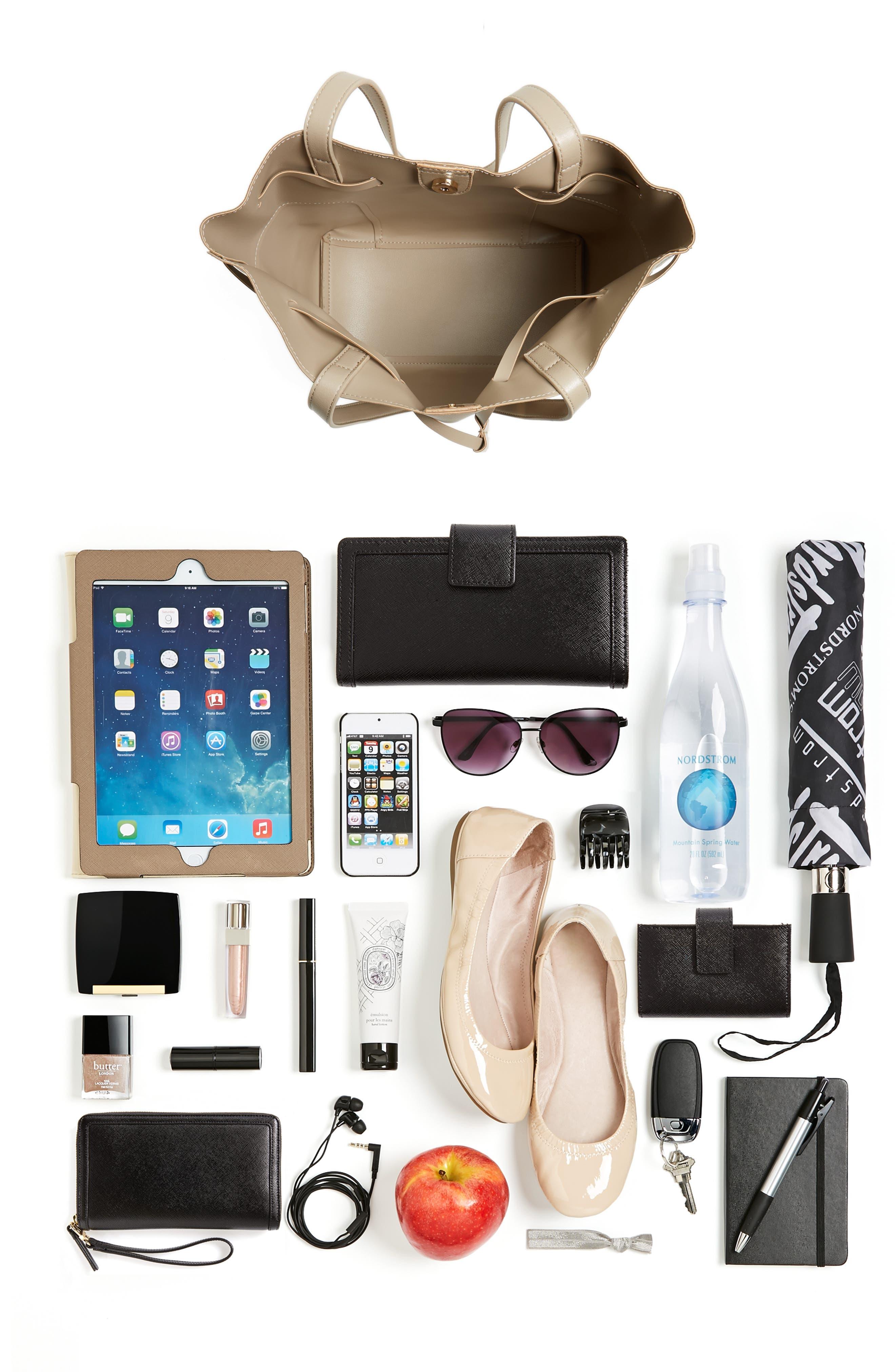 Alternate Image 7  - Sole Society Jocelynn Faux Leather Bucket Bag