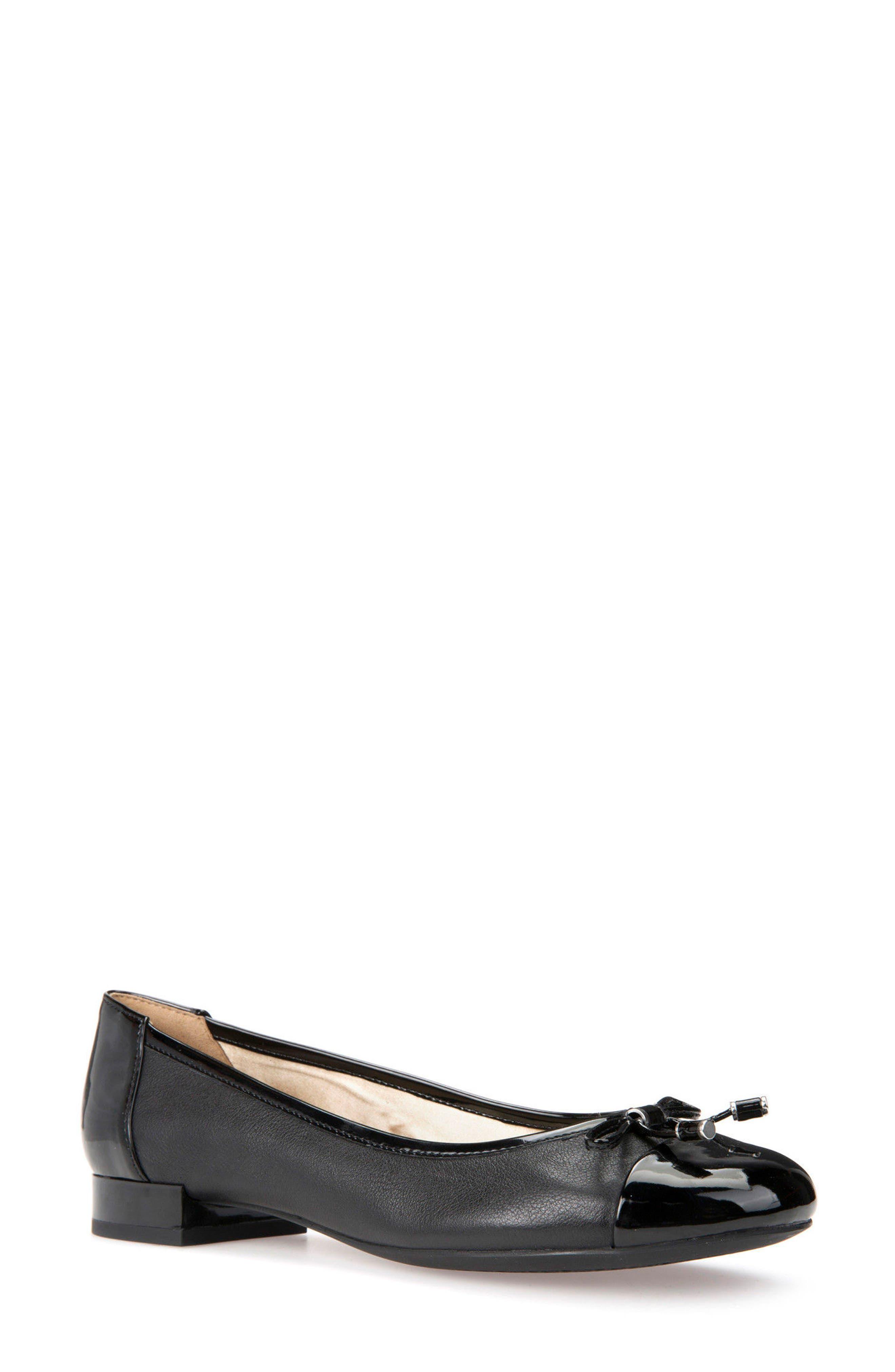 Wistrey Flat,                         Main,                         color, Black Leather