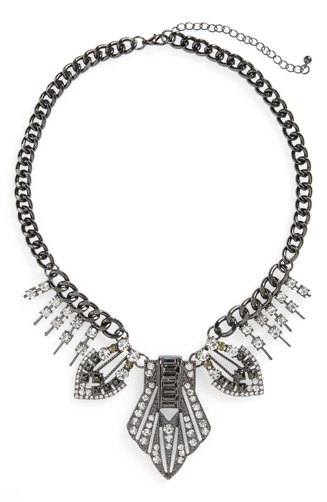 Alternate Image 1 Selected - Topshop Statement Collar Necklace