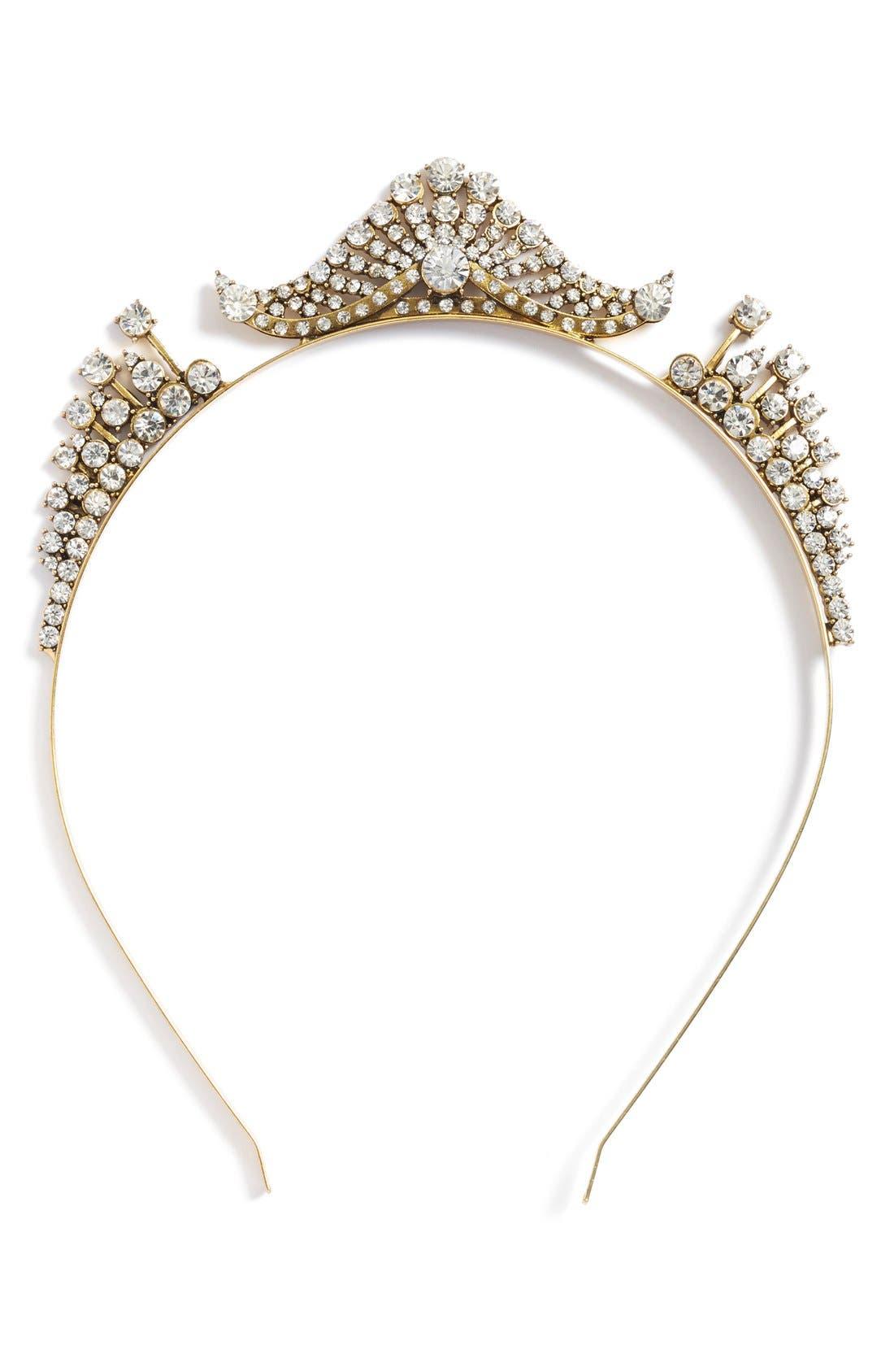 Alternate Image 3  - Untamed Petals by Amanda Judge x Meredith Markworth-Pollack 'Sparkler Tiara' Gilded Headband