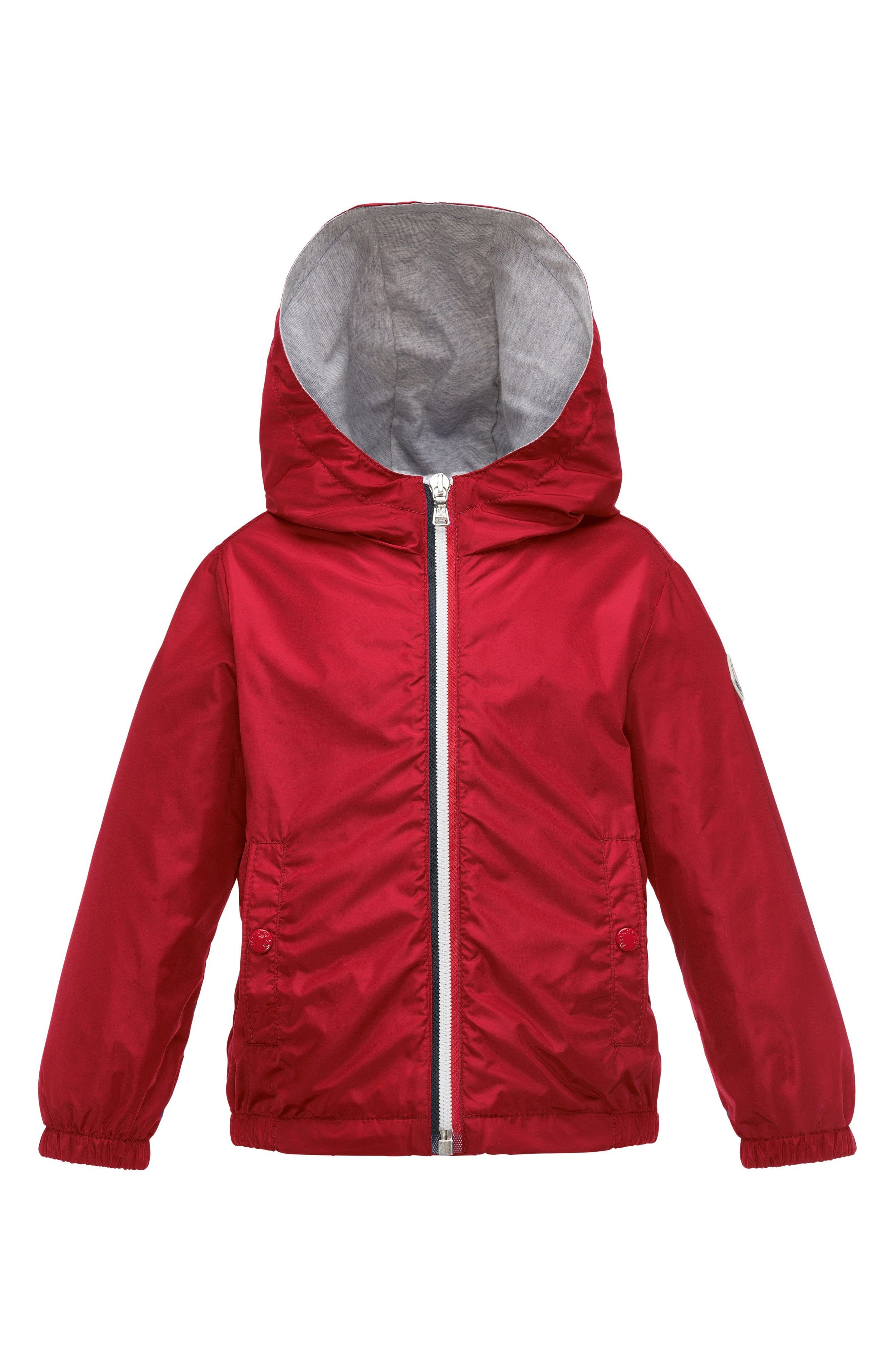 Main Image - Moncler New Urville Water Resistant Windbreaker Jacket (Little Boys & Big Boys)