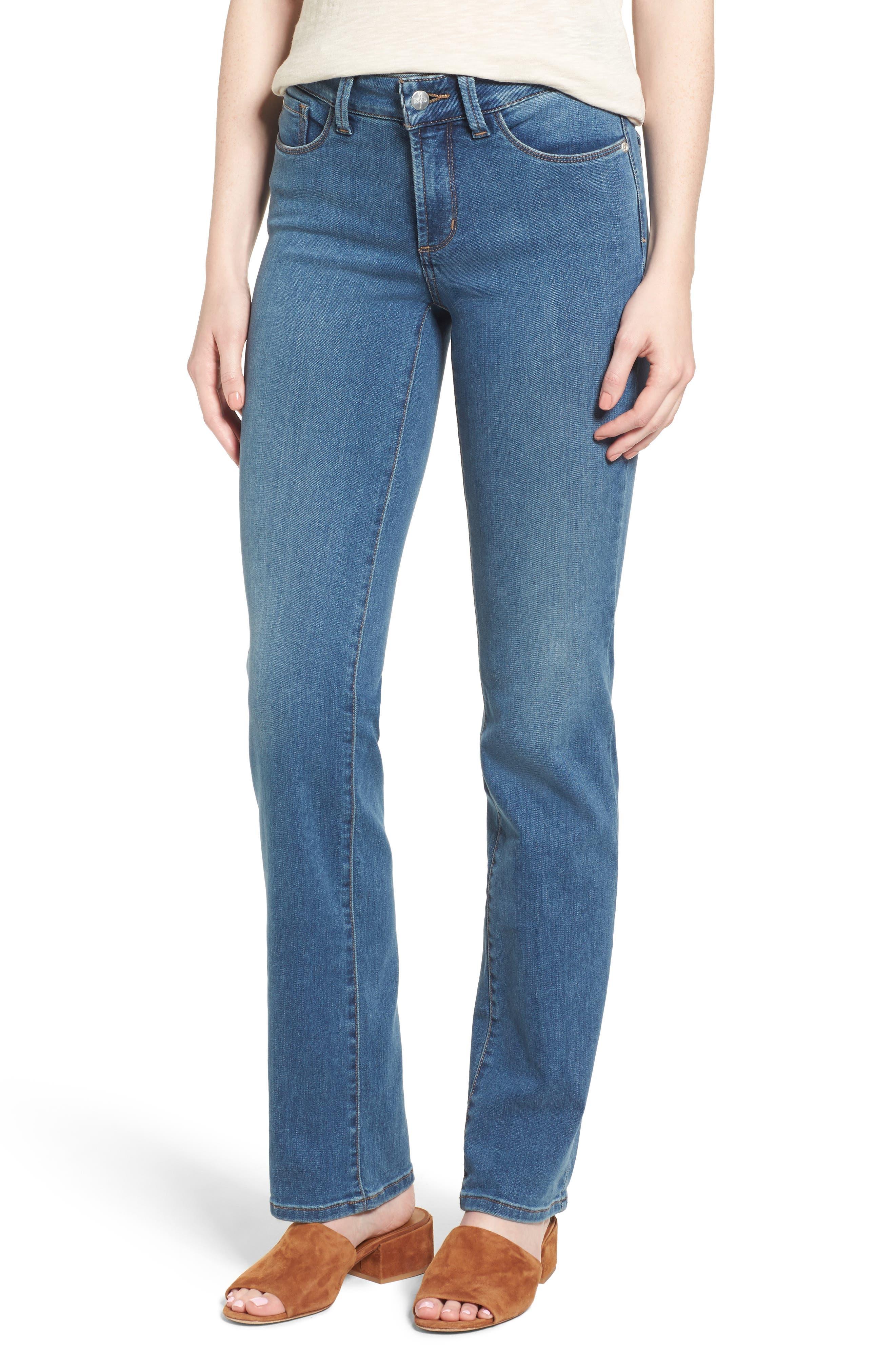 Main Image - NYDJ Marilyn Stretch Straight Leg Jeans