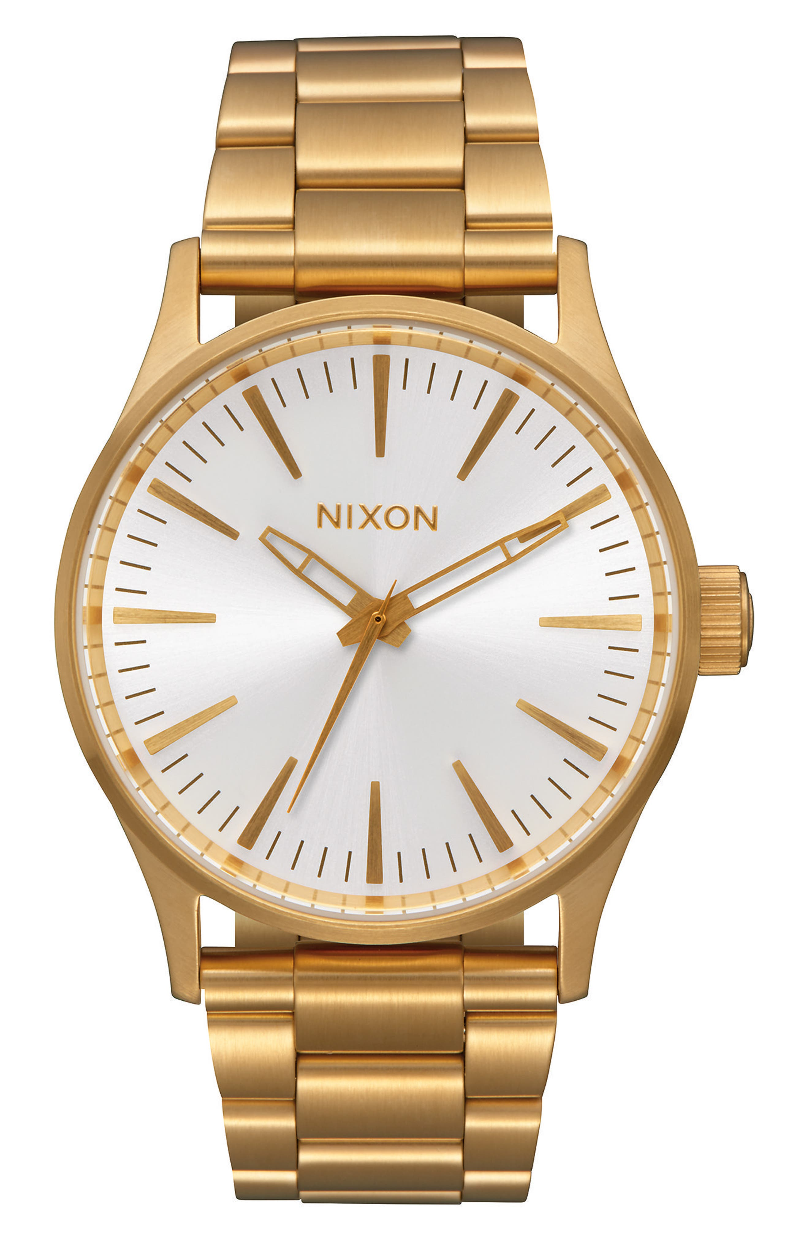NIXON Sentry Bracelet Watch, 38mm
