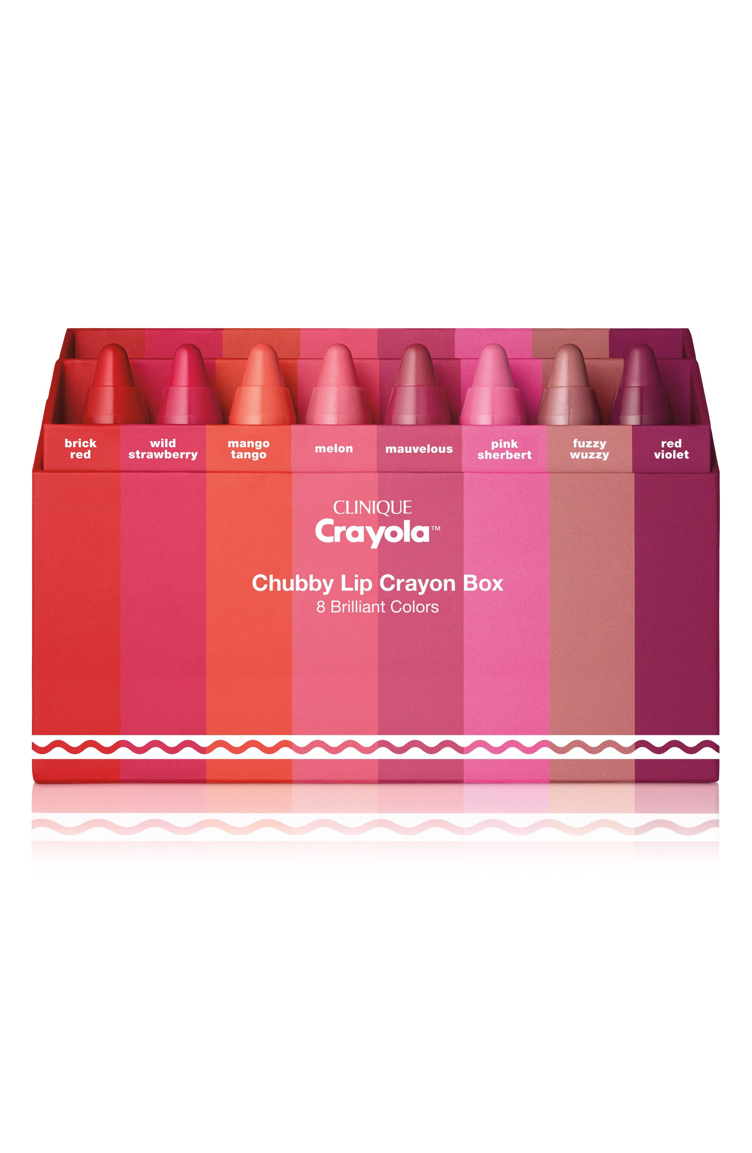Crayola<sup>™</sup> Chubby Lip Crayon Box,                             Main thumbnail 1, color,                             No Color