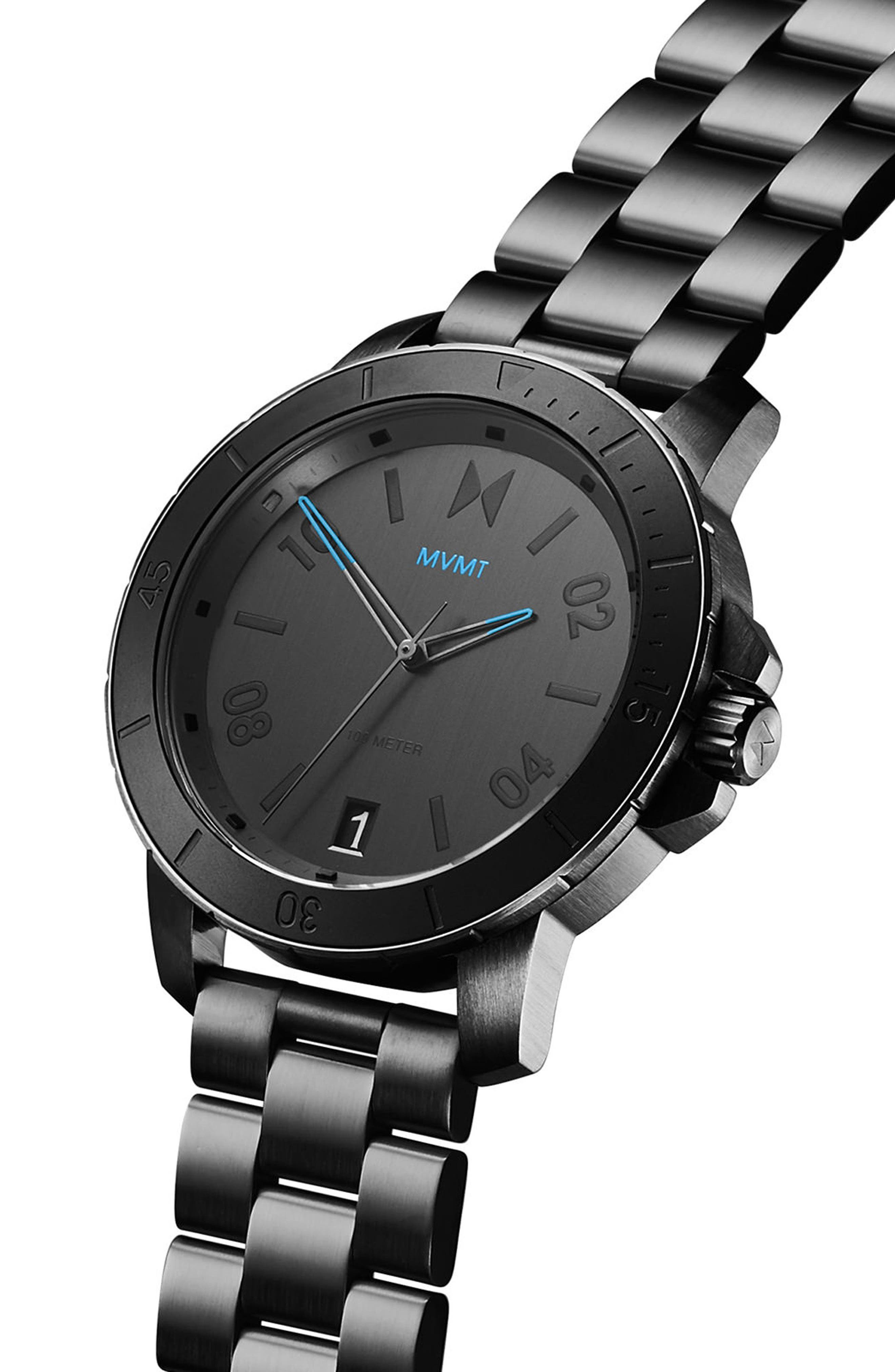 Alternate Image 3  - MVMT Modern Sport Bracelet Watch, 42mm