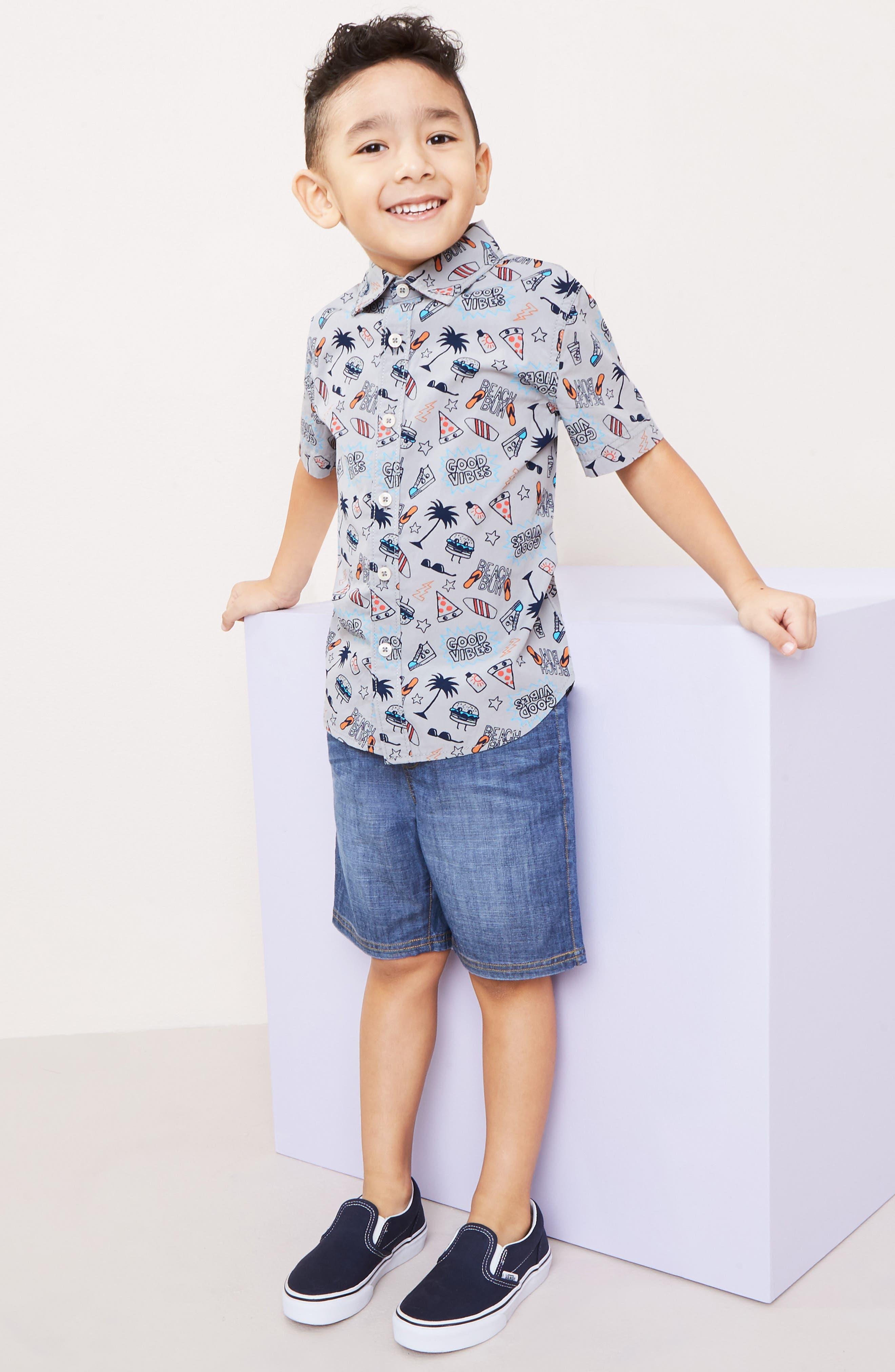 Alternate Image 3  - Tucker + Tate Denim Shorts (Toddler Boys & Little Boys)