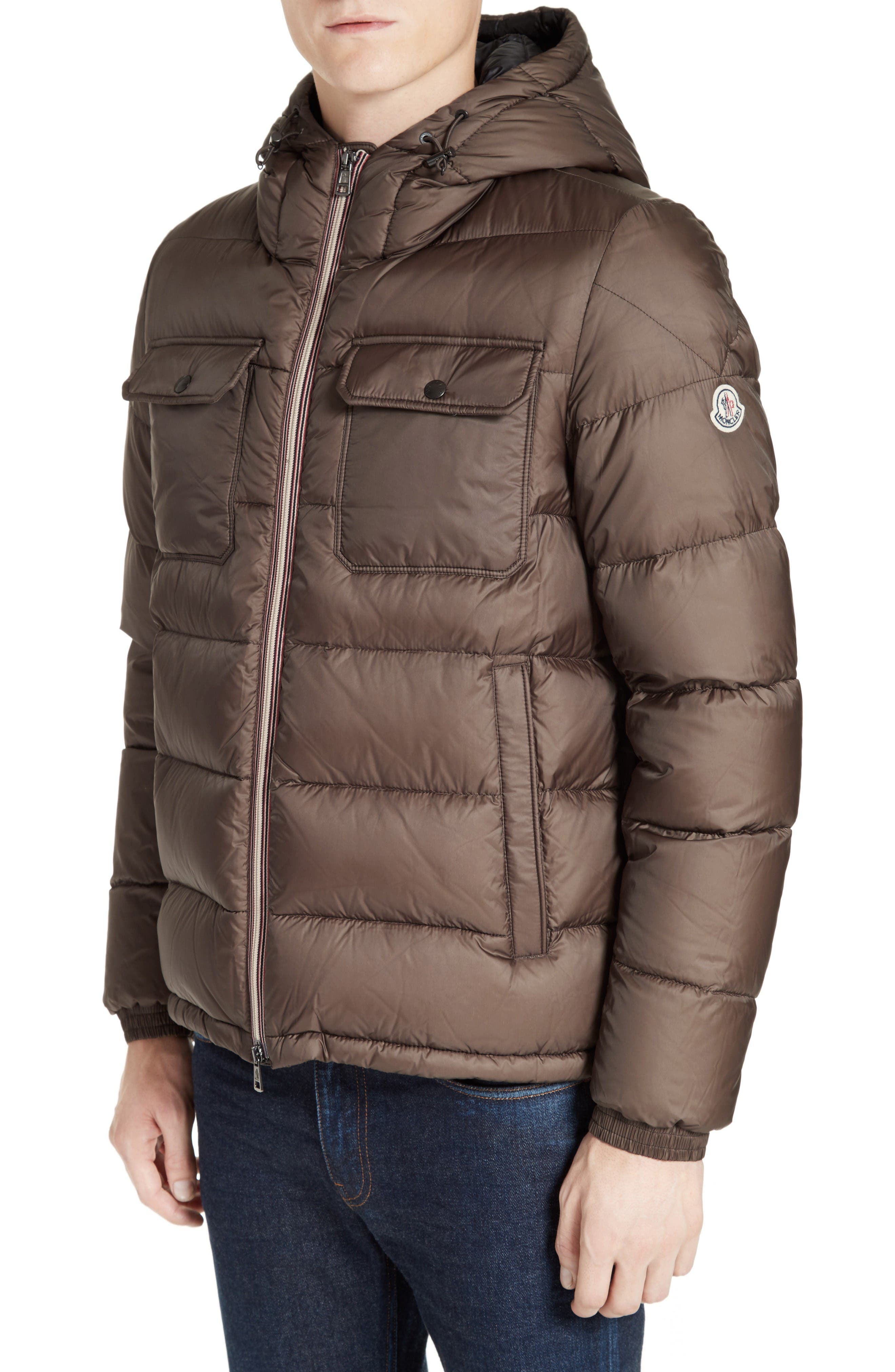 Moncler Morane Hooded Down Quilted Jacket