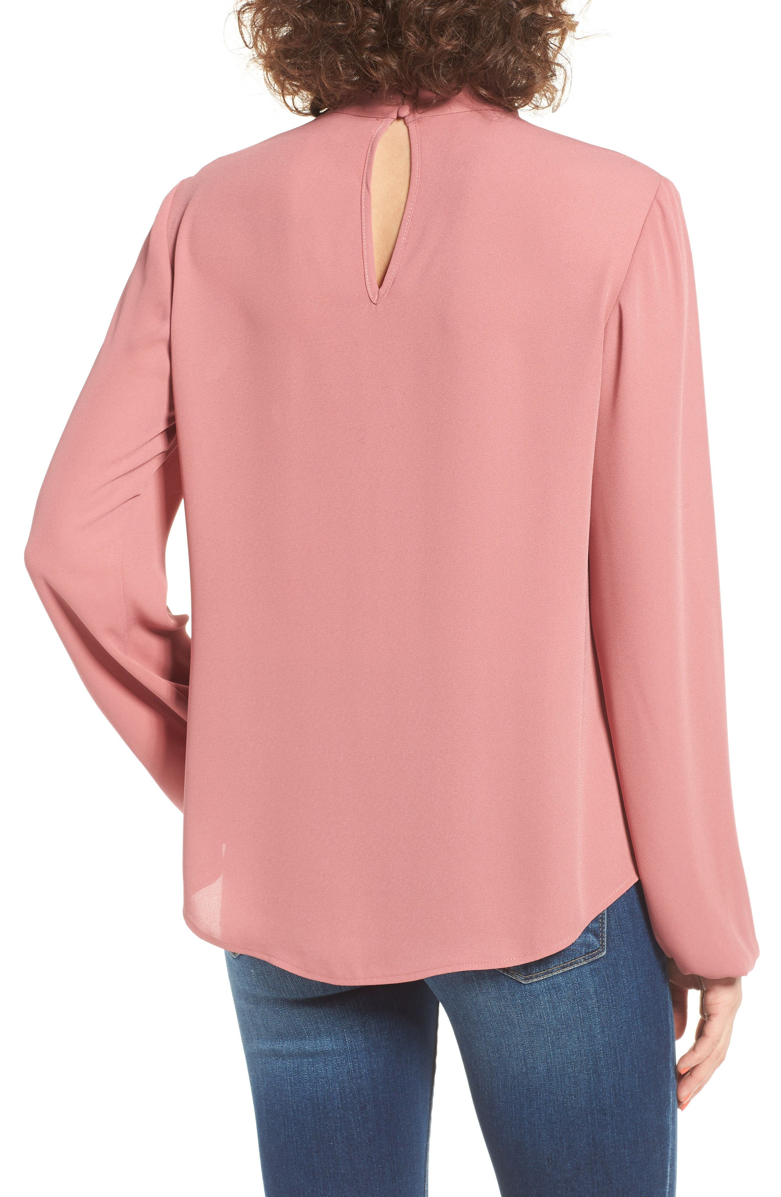 Alternate Image 2  - WAYF Sweet Symphony V-Neck Blouse