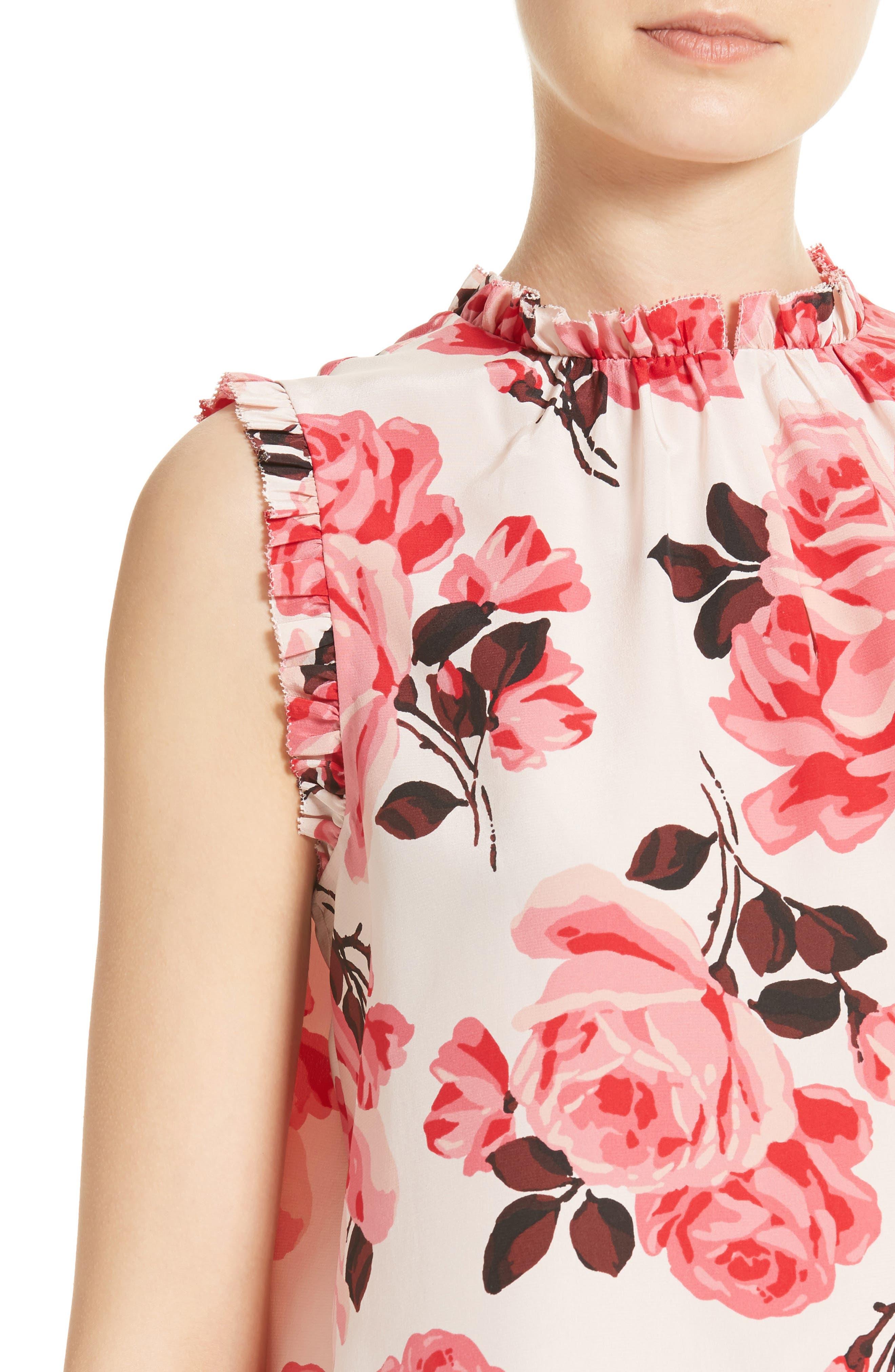 Alternate Image 4  - kate spade new york rosa silk top