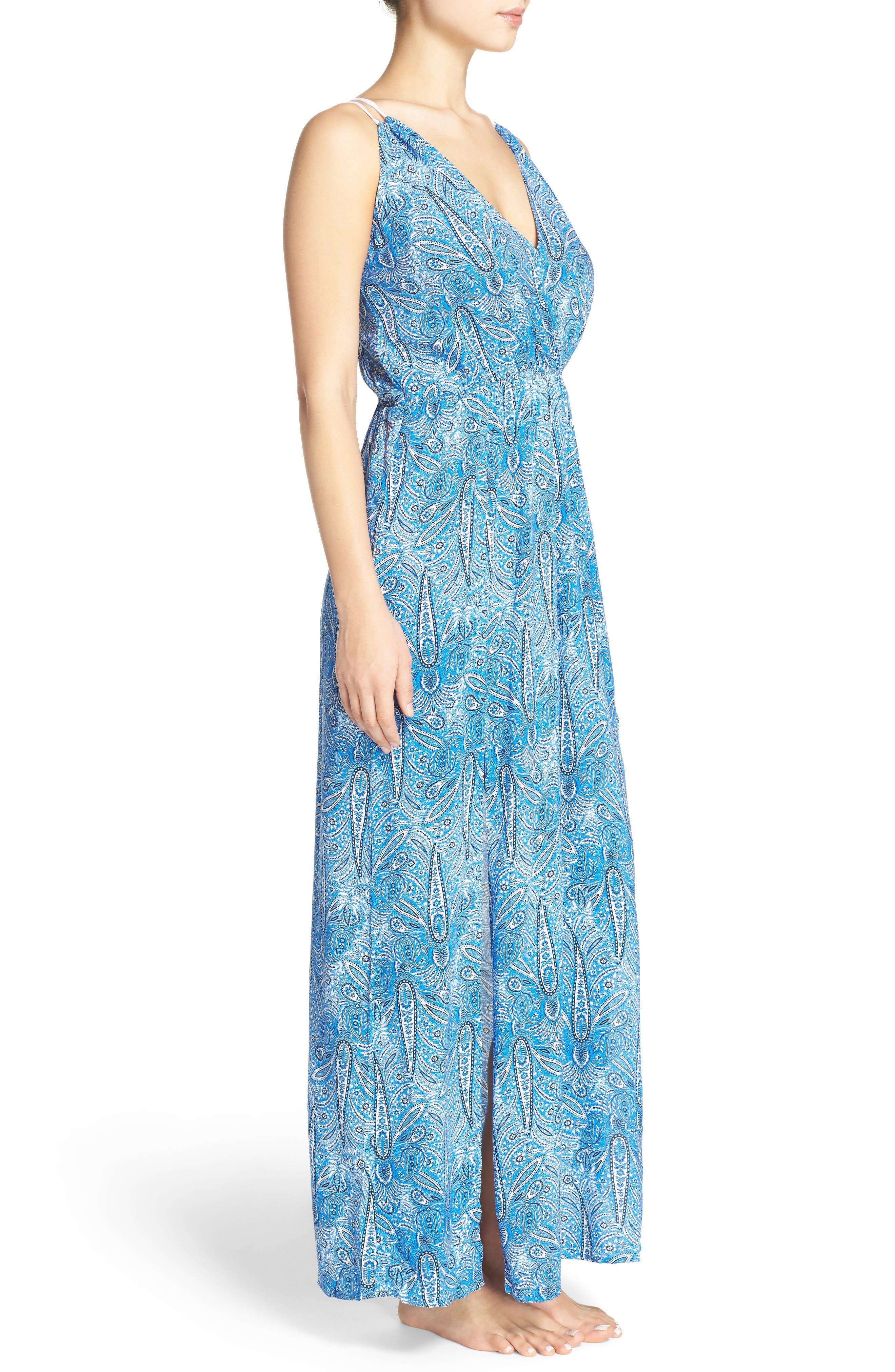 Alternate Image 3  - Freya Summer Tide Maxi Cover-Up Dress