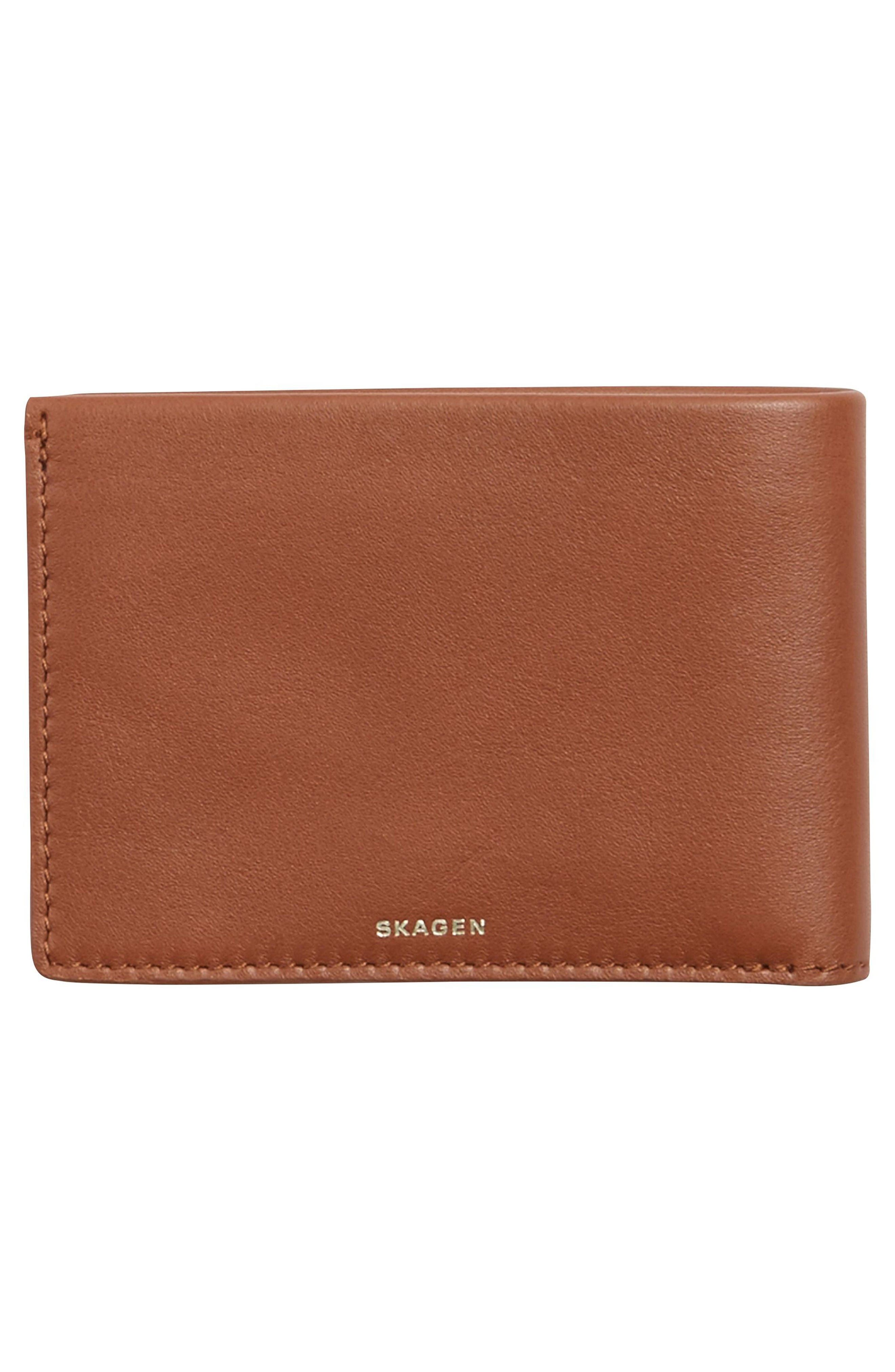 Alternate Image 3  - Skagen Leather Wallet