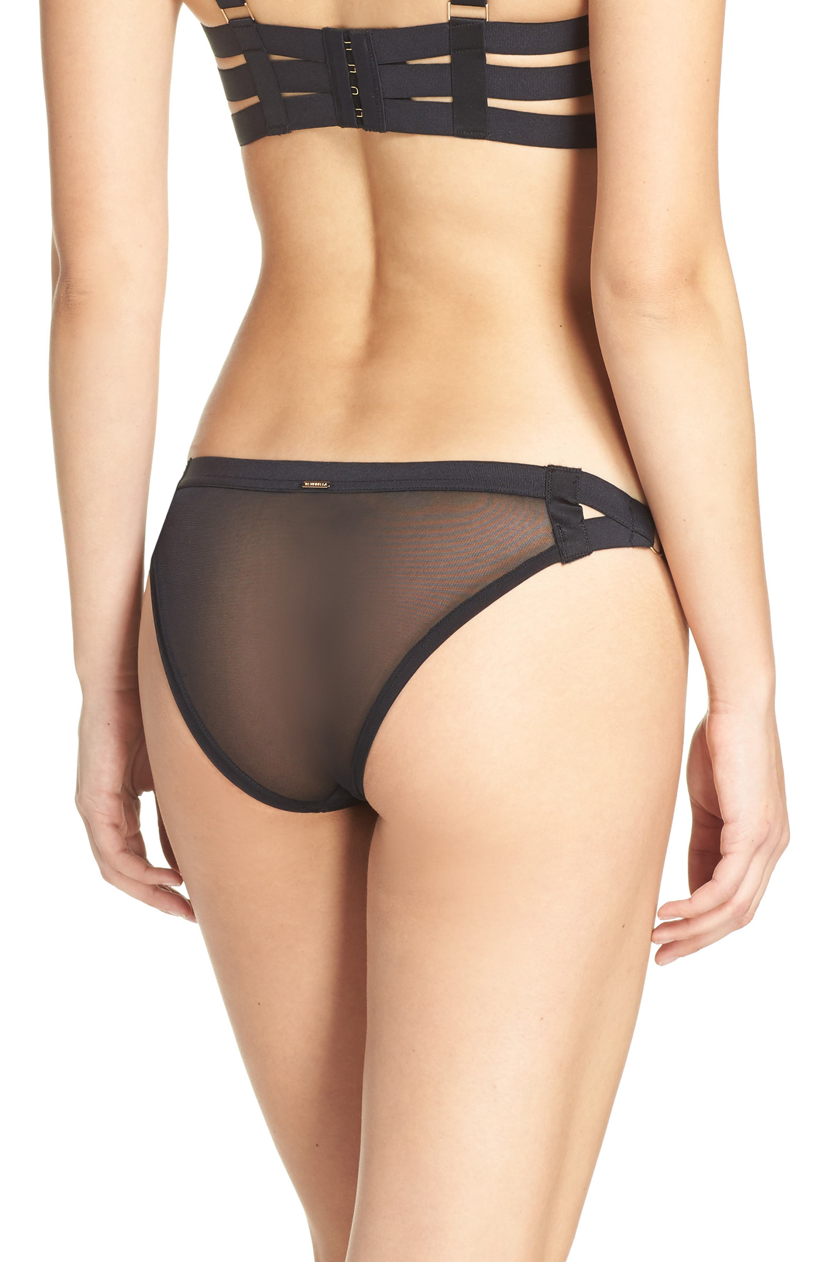 Aura Bikini,                             Alternate thumbnail 2, color,                             Black