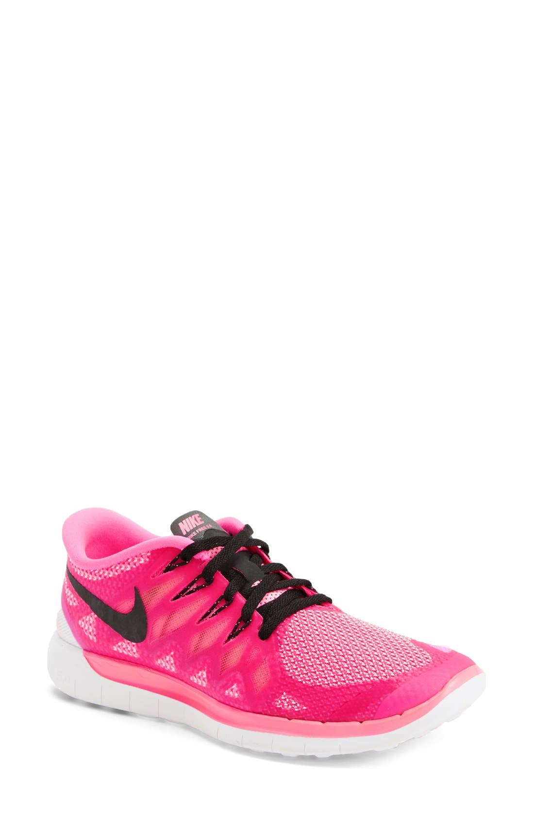 'Free 5.0 14' Running Shoe,                             Main thumbnail 1, color,                             Pink/ Polarized Pink