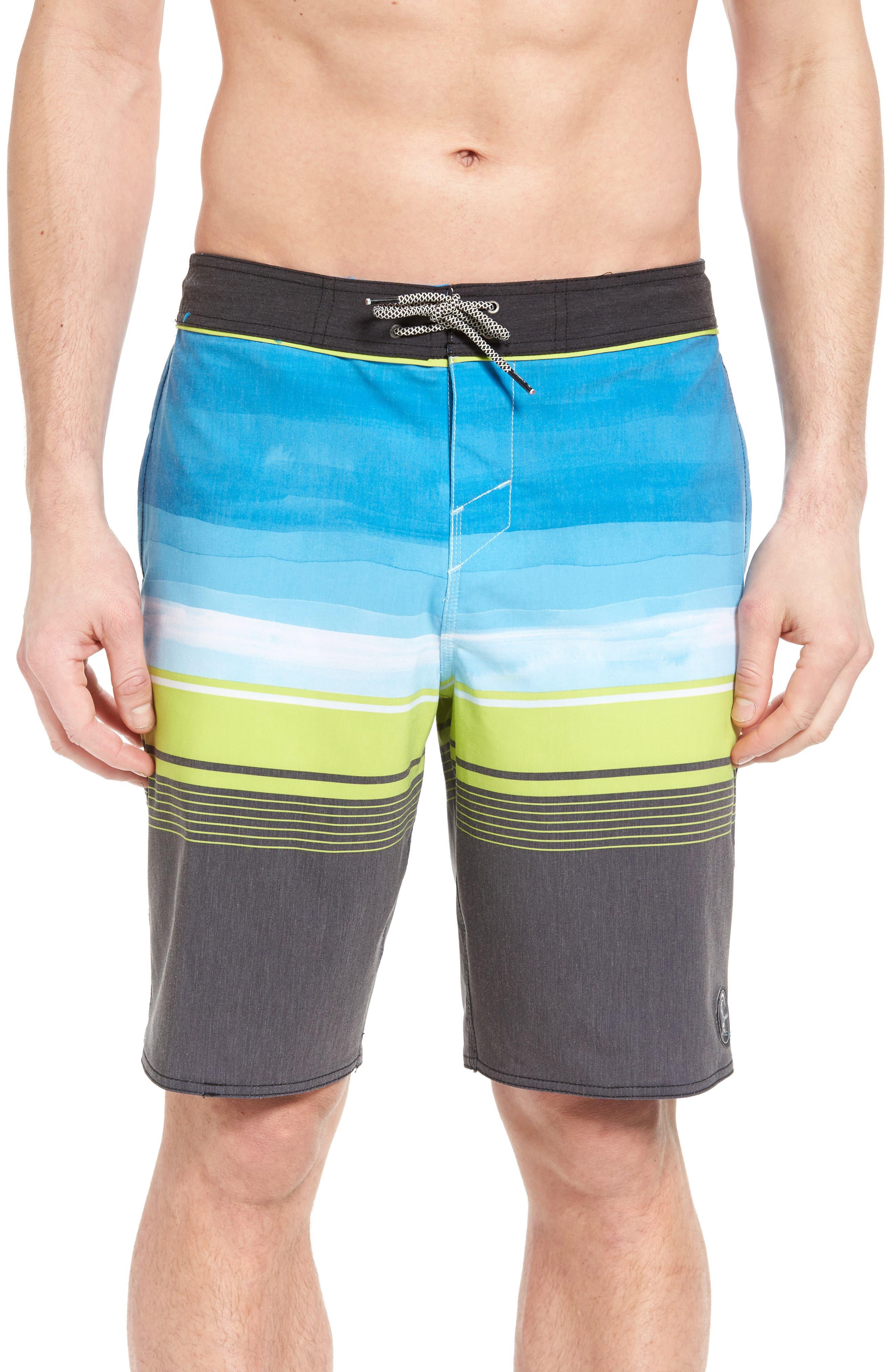 Hyperfreak Source Board Shorts,                         Main,                         color, Black