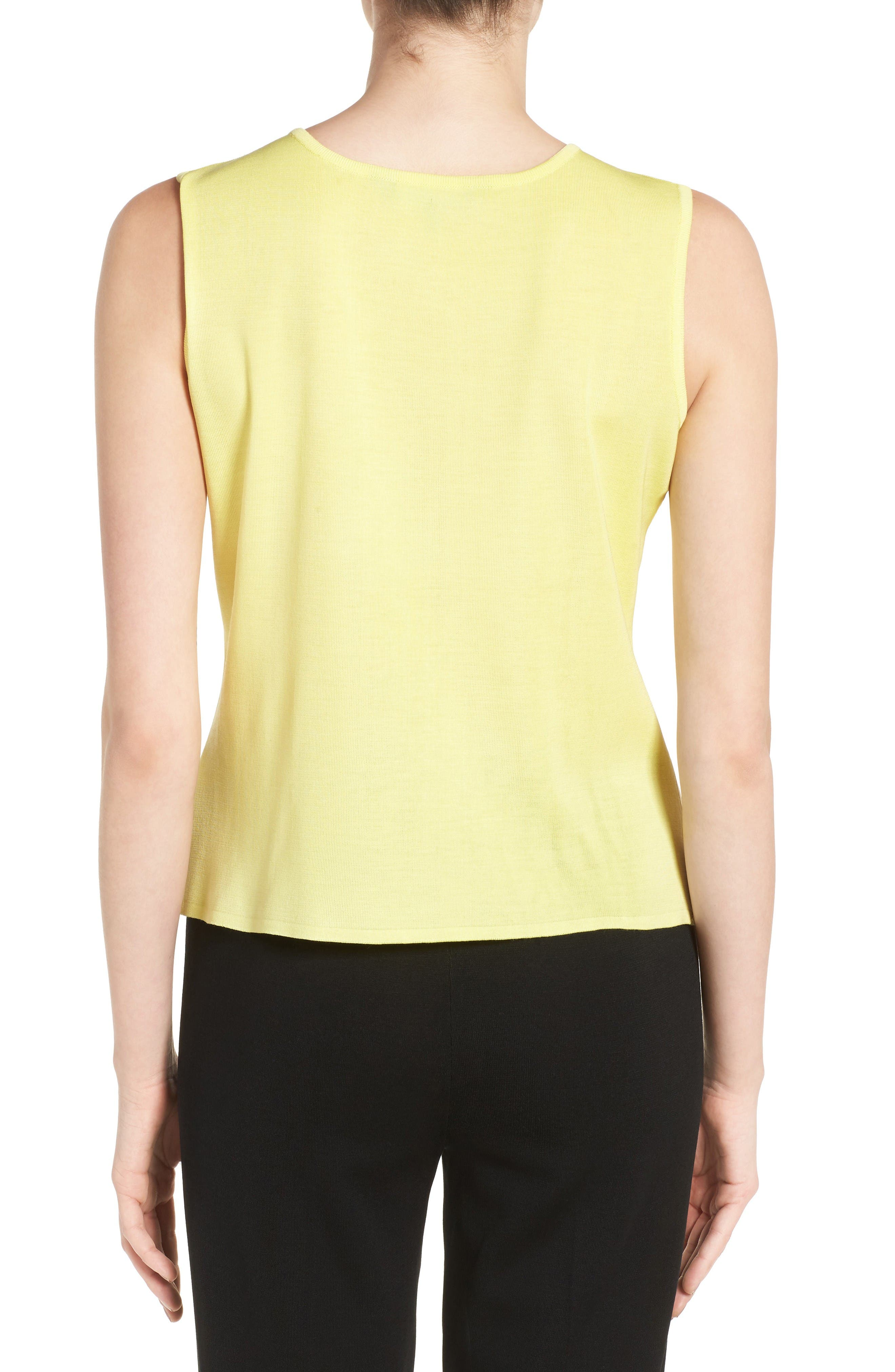 Alternate Image 2  - Ming Wang Scoop Neck Knit Tank