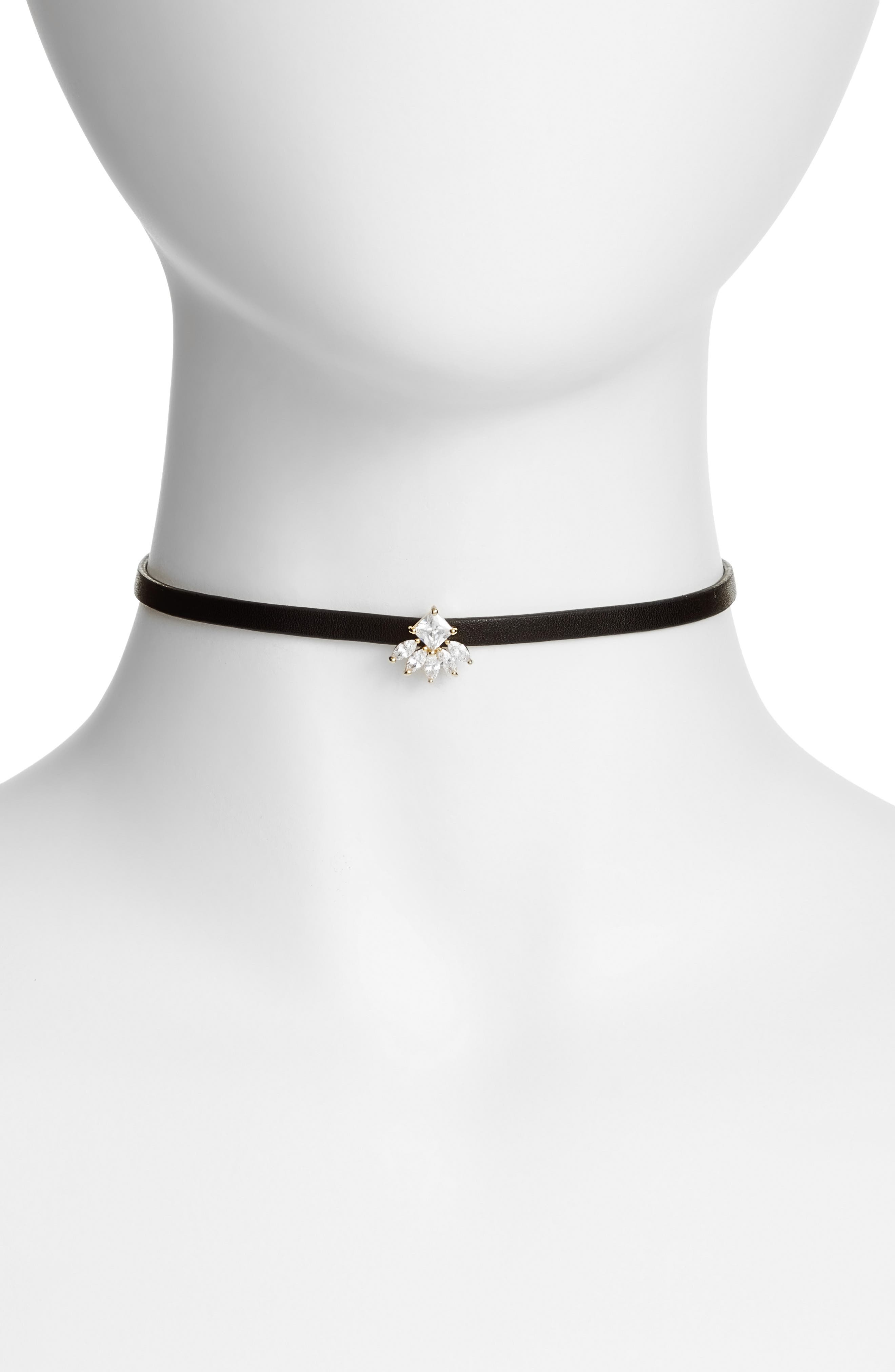 CZ by Kenneth Jay Lane Princess Marquise Choker
