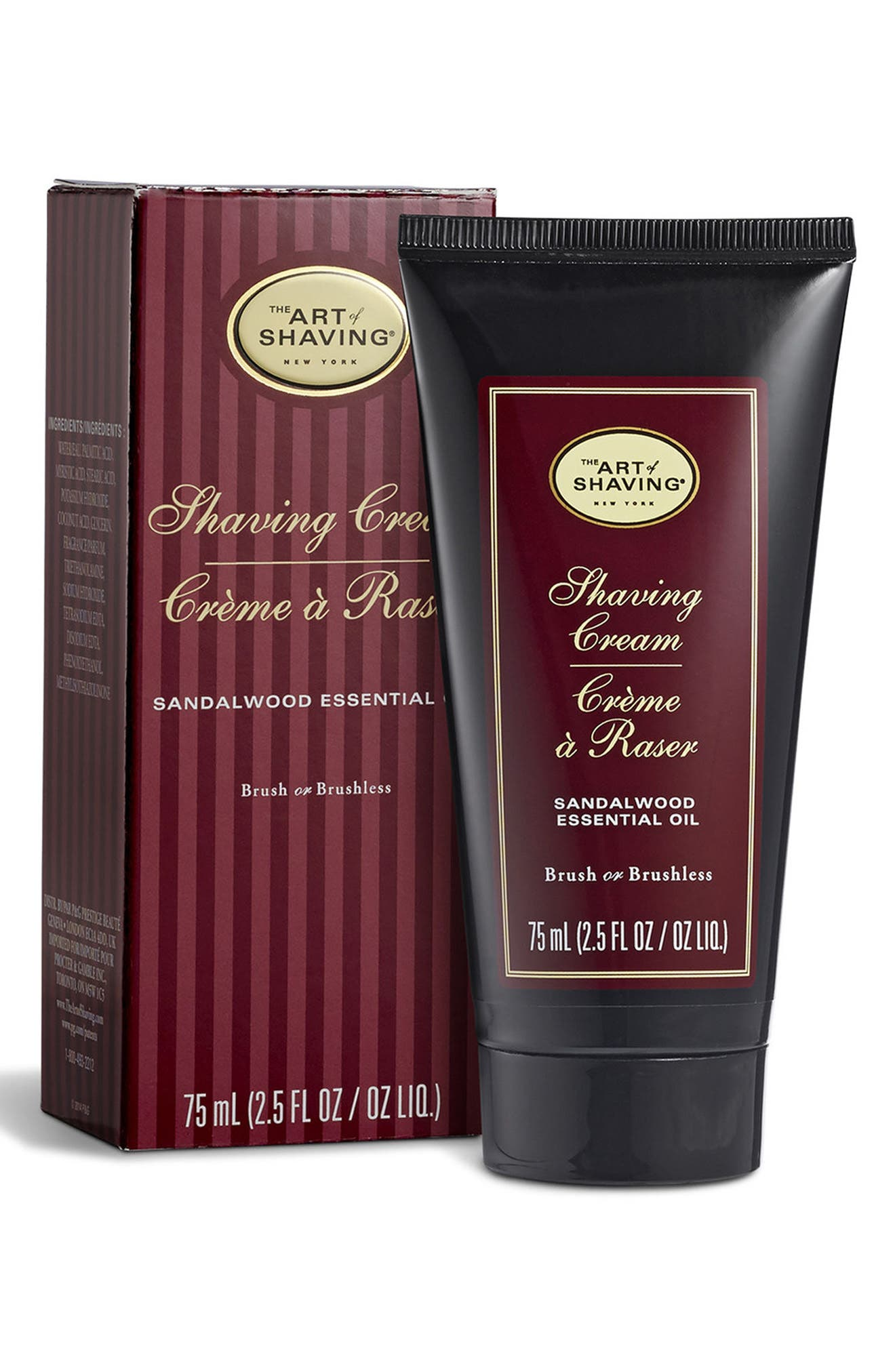 Sandalwood Shaving Cream Tube,                             Alternate thumbnail 2, color,                             No Color