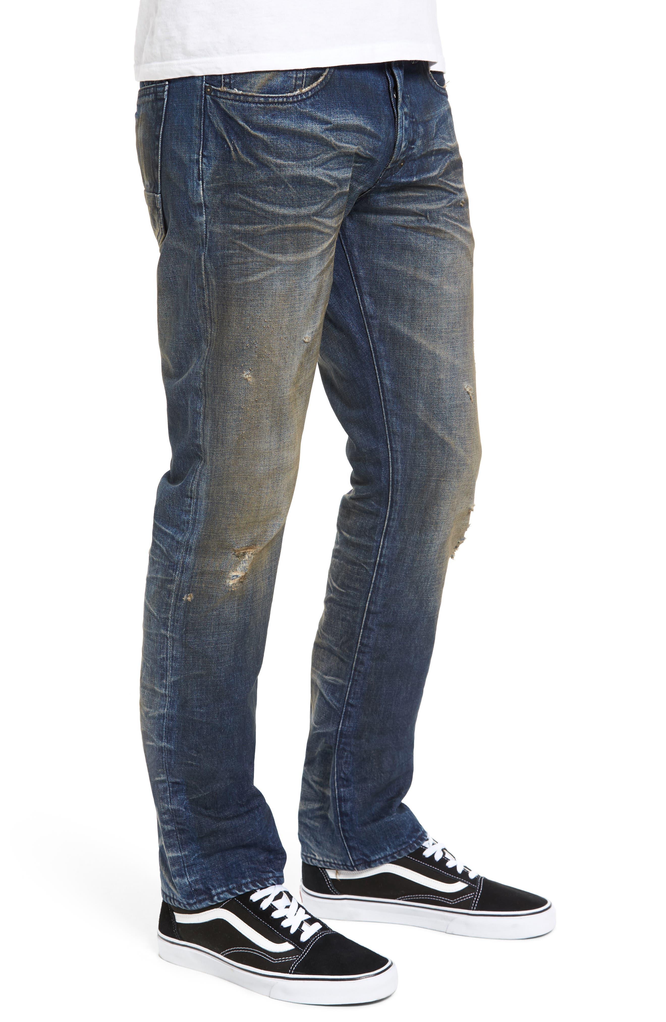 Alternate Image 3  - PRPS Demon Slim Straight Leg Jeans