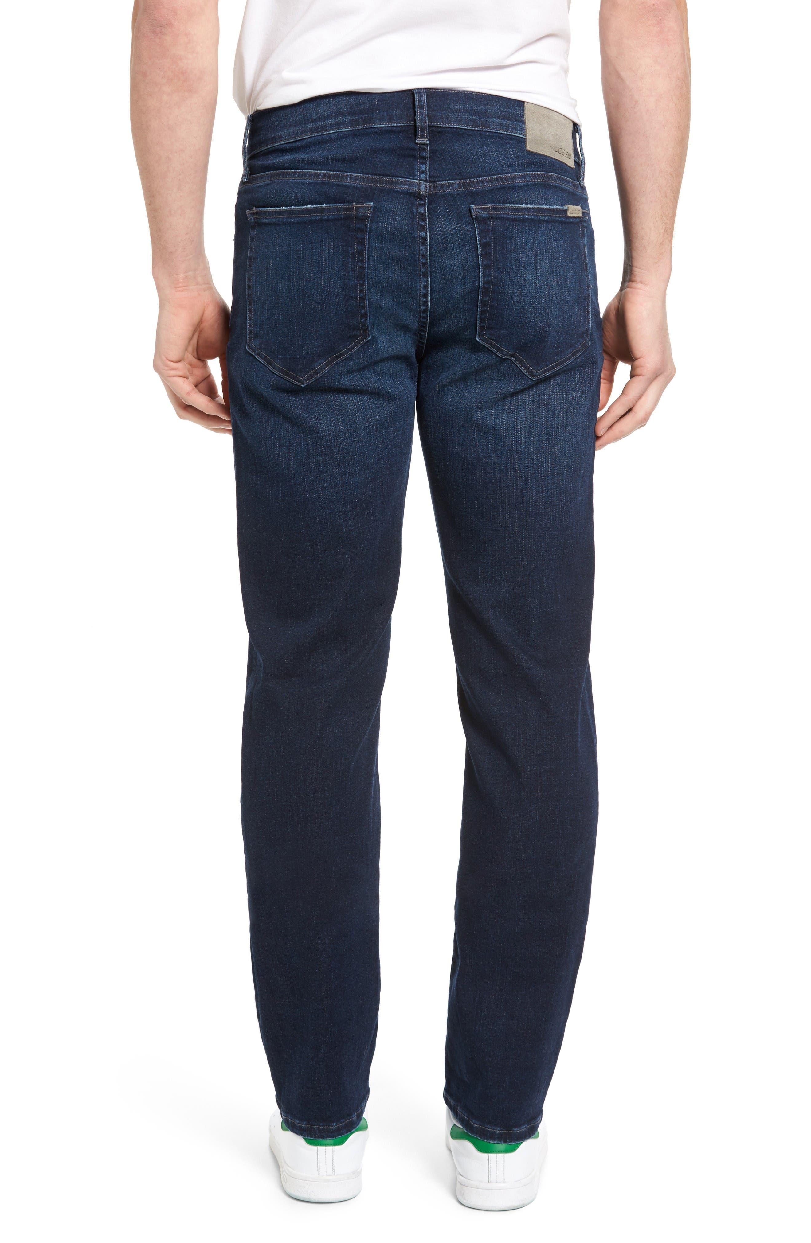 Brixton Kinetic Slim Straight Leg Jeans,                             Alternate thumbnail 2, color,                             Aedan
