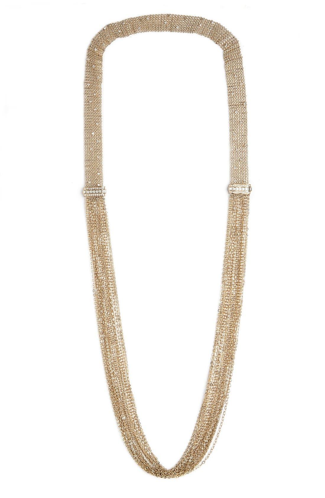 LANVIN Mesh Chain Necklace