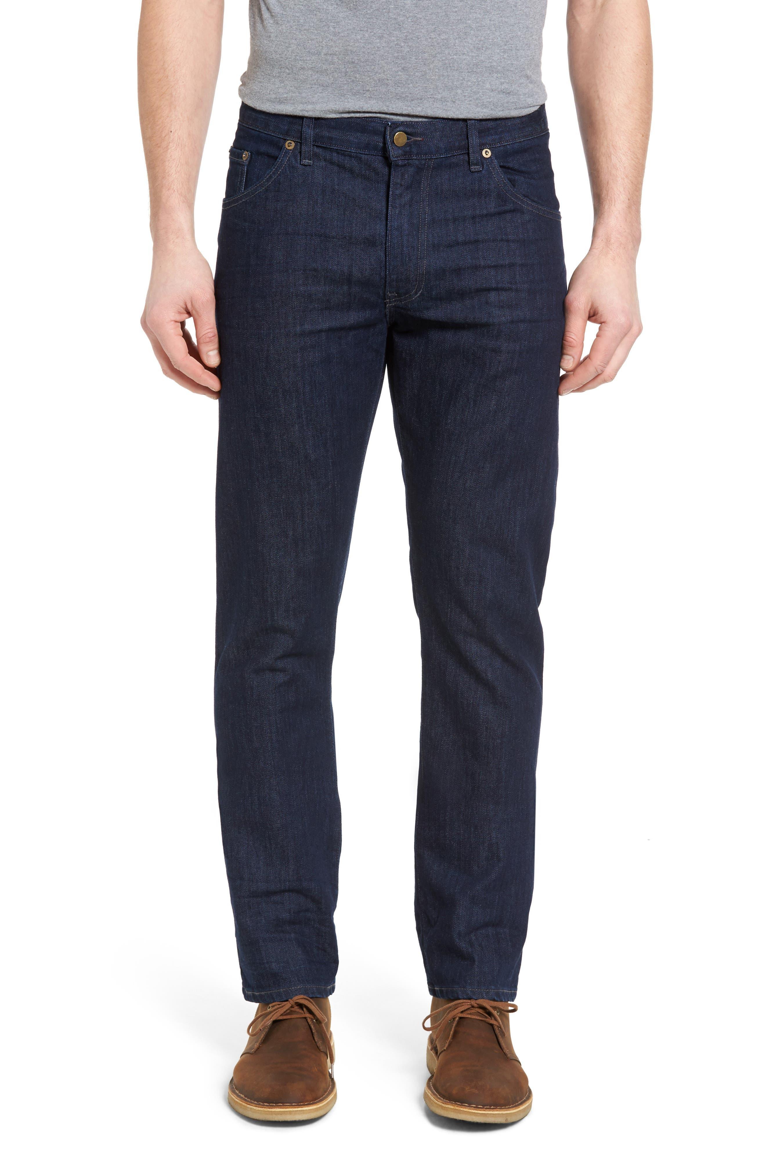 Jones Slim Fit Jeans,                         Main,                         color, Blue