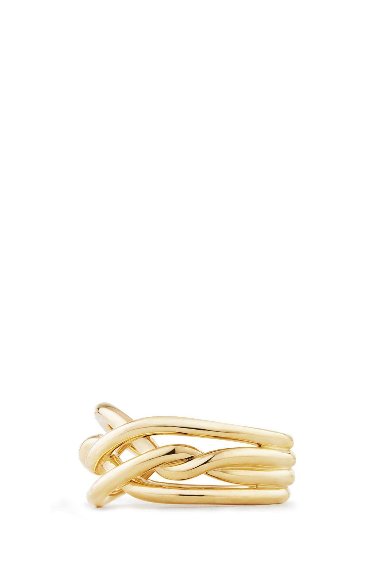 Alternate Image 2  - David Yurman Continuance Ring in 18K Gold