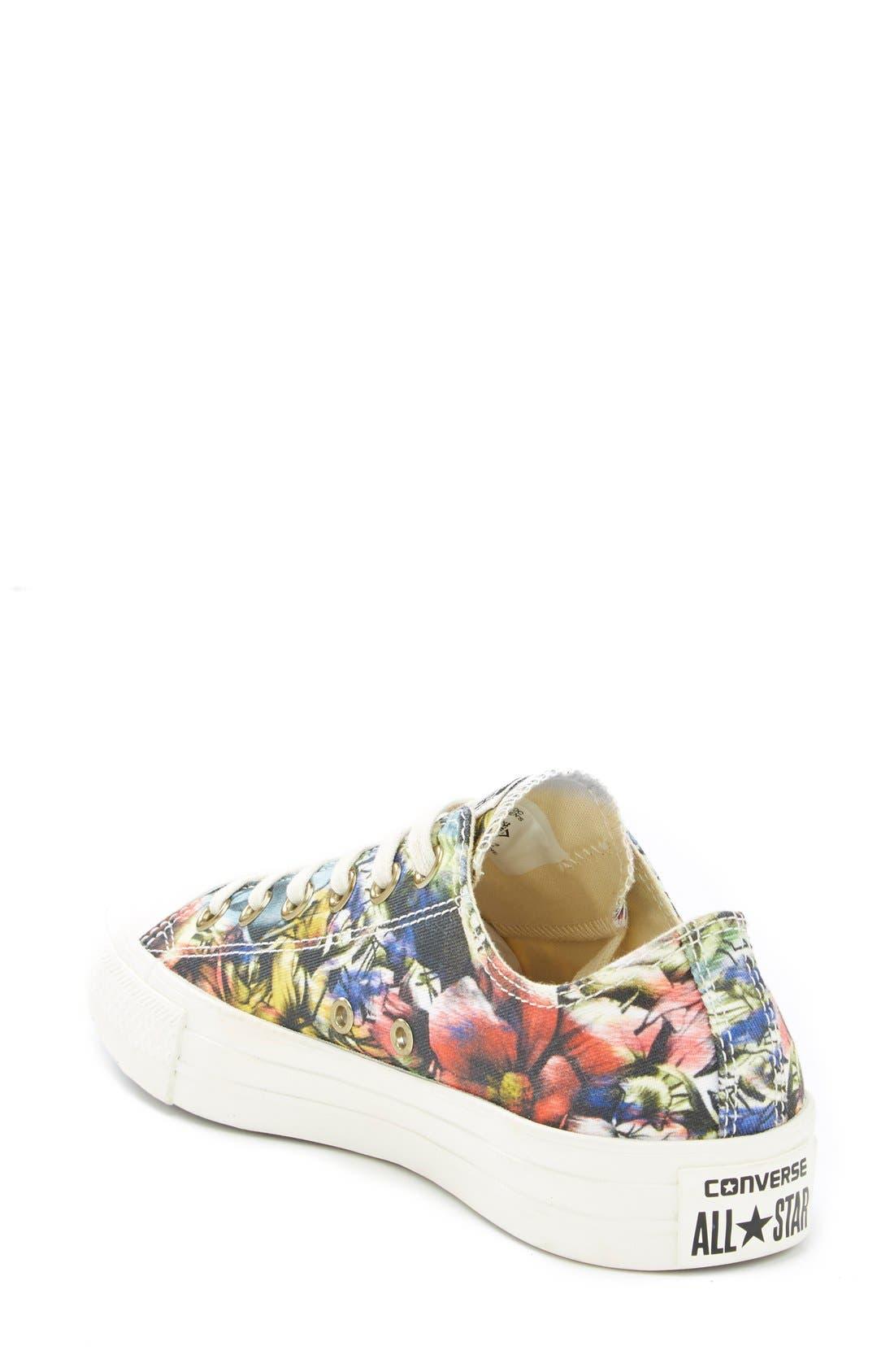 Alternate Image 2  - Converse Chuck Taylor® Floral Print Sneaker (Women)
