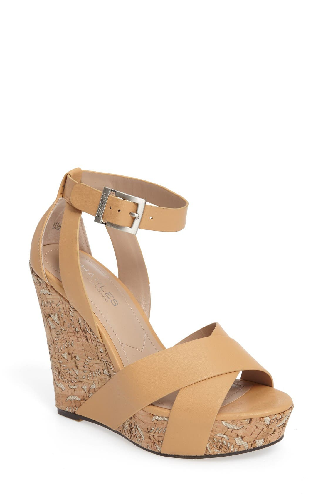 Alternate Image 1 Selected - Charles by Charles David Amsterdam Platform Wedge Sandal (Women)