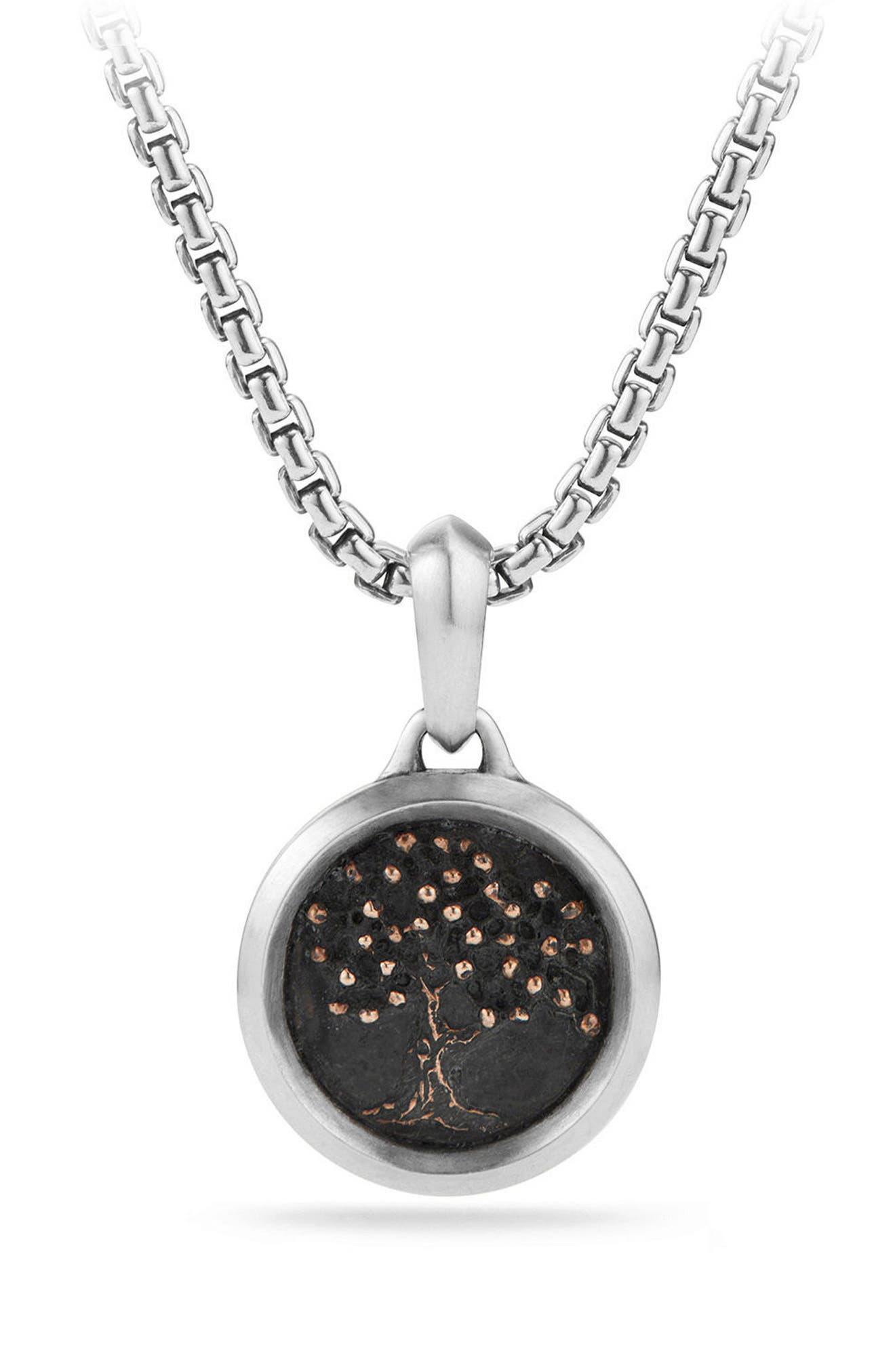 Tree of Life Amulet,                             Main thumbnail 1, color,                             Silver/ Bronze