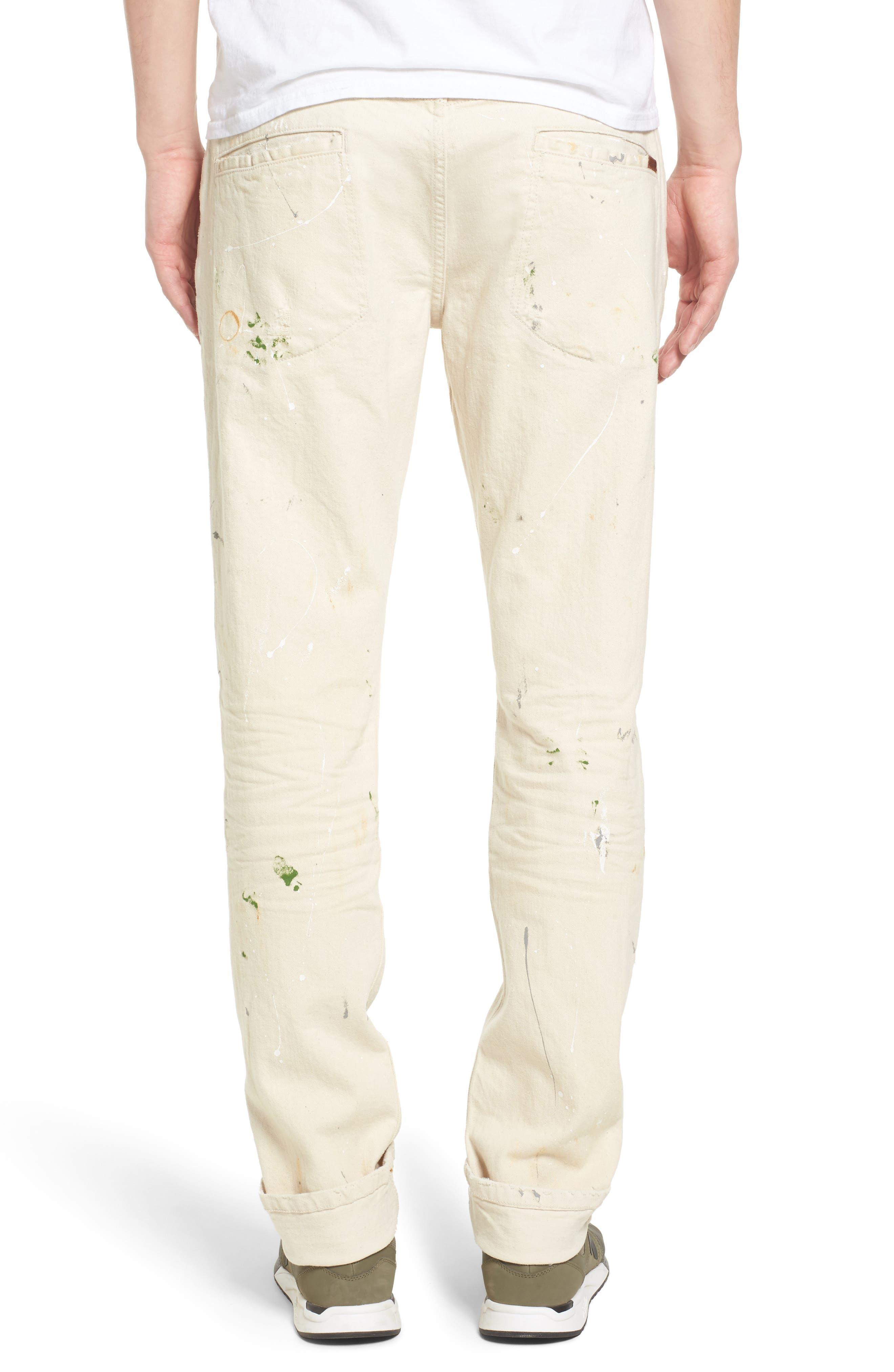 Standard Slouchy Slim Fit Jeans,                             Alternate thumbnail 2, color,                             Gregor