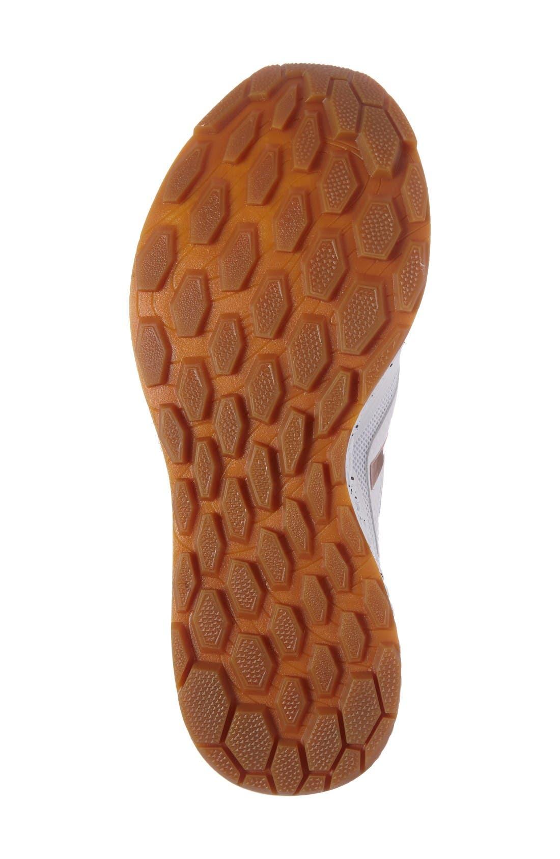 Gobi Fresh Foam Trail Running Shoe,                             Alternate thumbnail 4, color,                             White