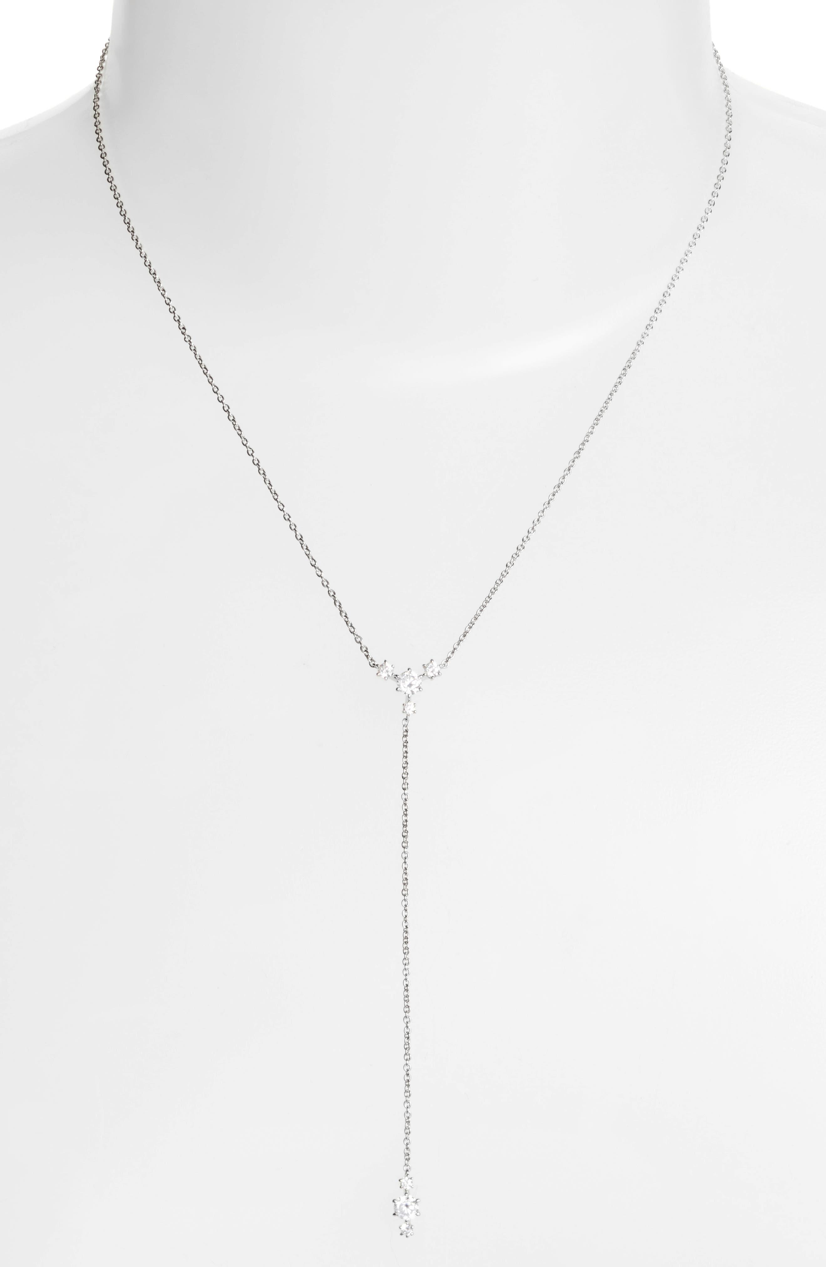 Alternate Image 1 Selected - Nadri Edwardian Crystal Y-Necklace
