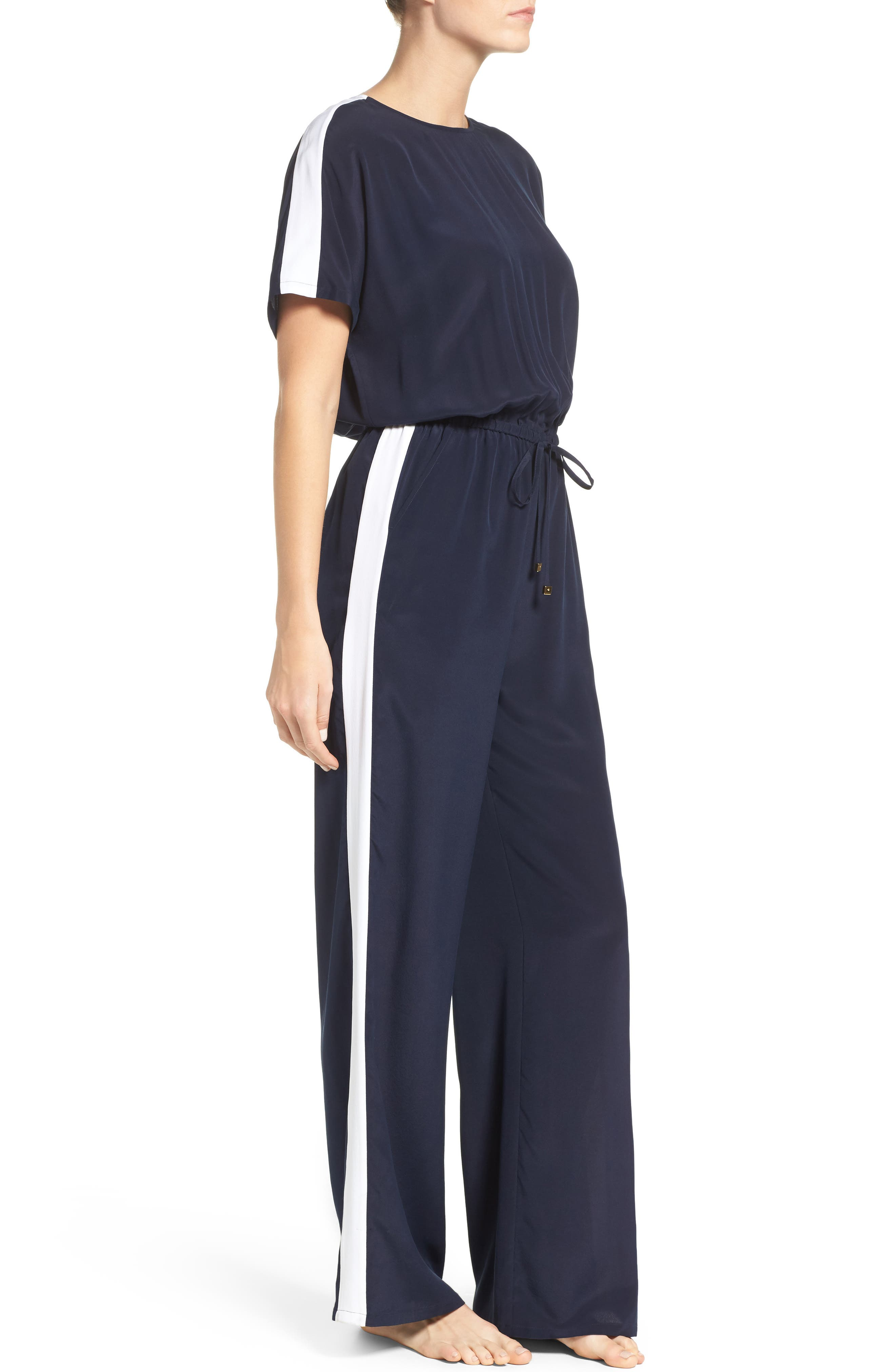 Alternate Image 3  - Tory Burch Silk Cover-Up Jumpsuit