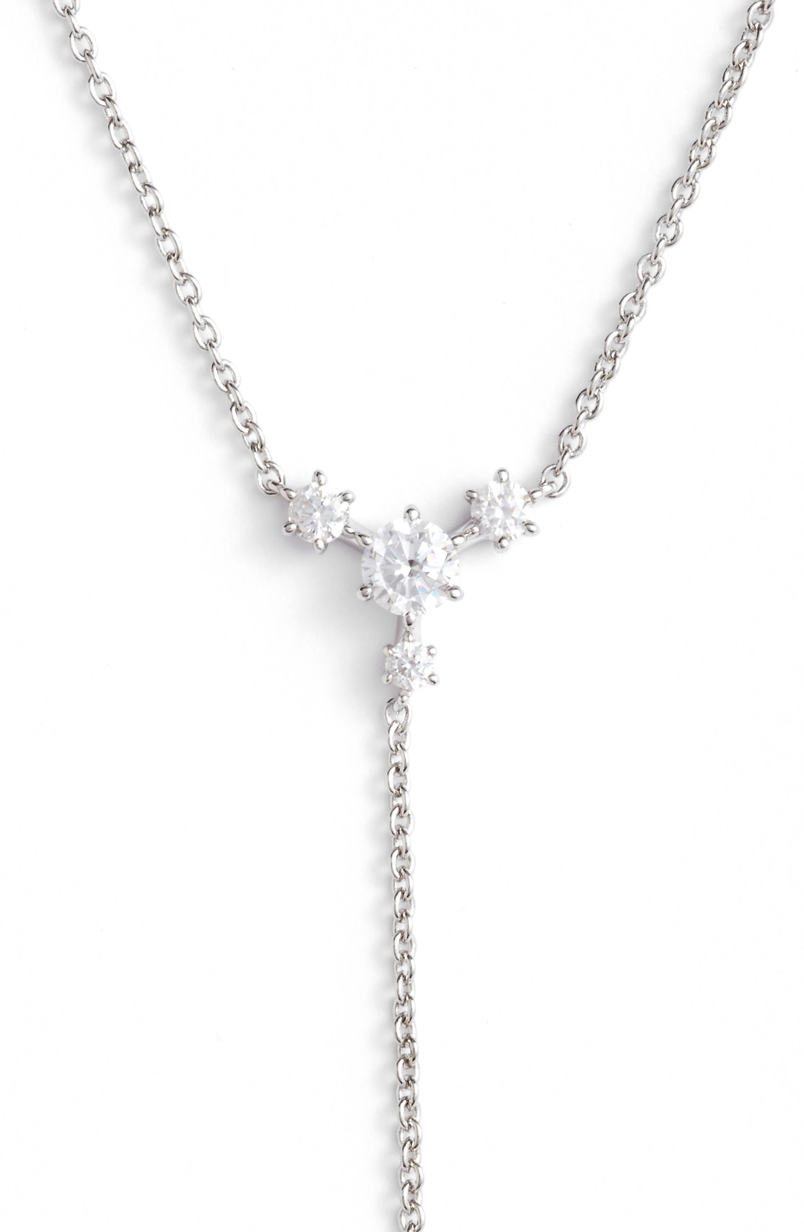 Alternate Image 2  - Nadri Edwardian Crystal Y-Necklace