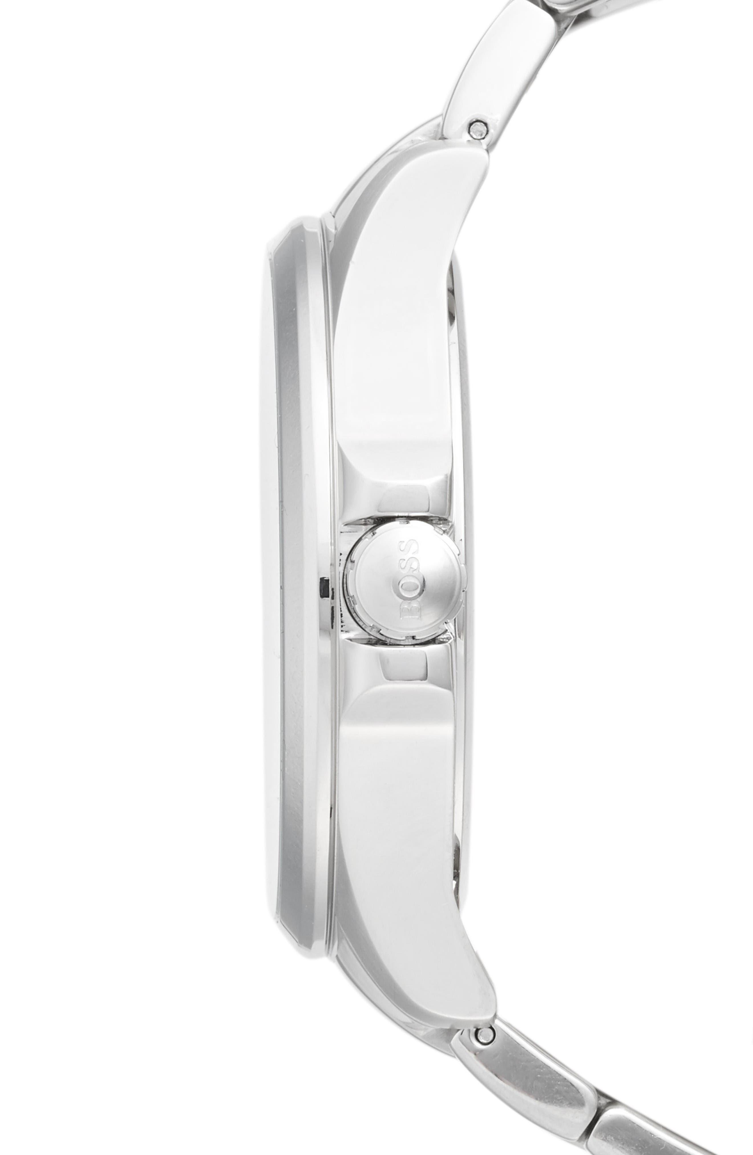 Alternate Image 3  - BOSS The James Bracelet Watch, 42mm