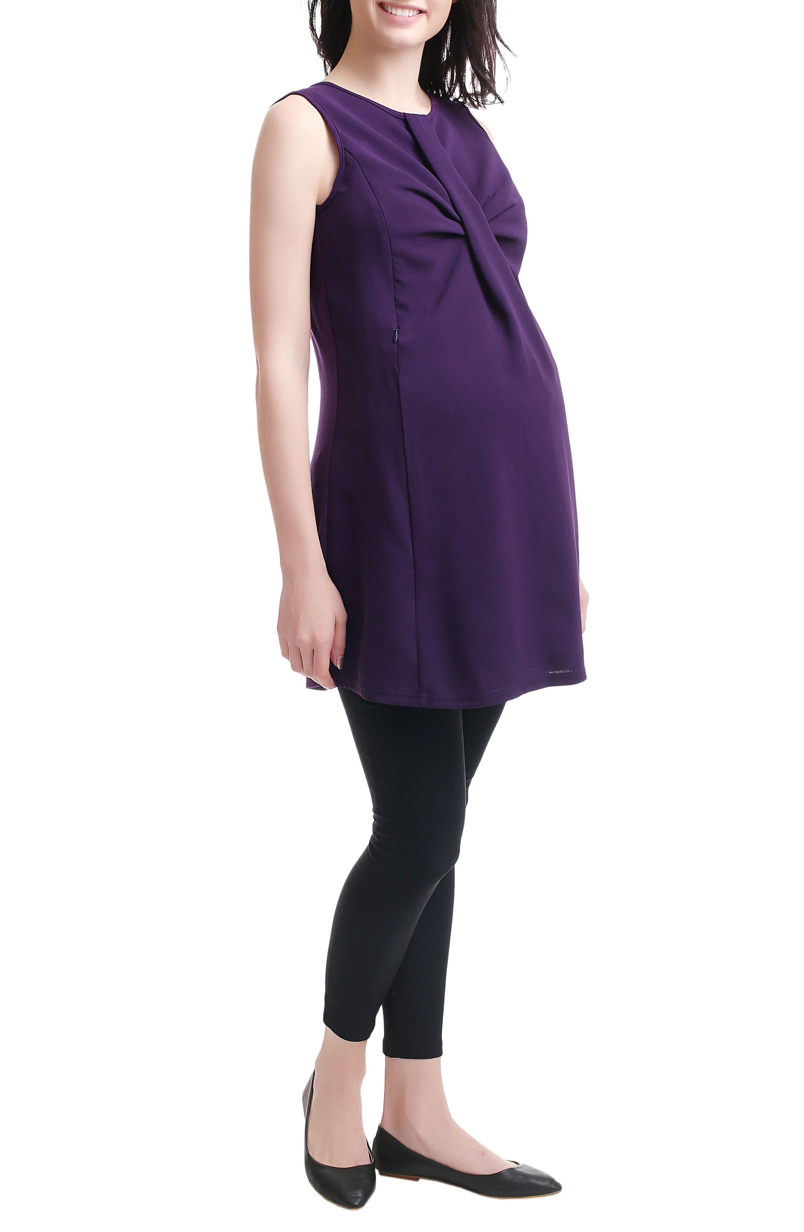 Alternate Image 2  - Kimi and Kai Epona Maternity/Nursing Shift Dress