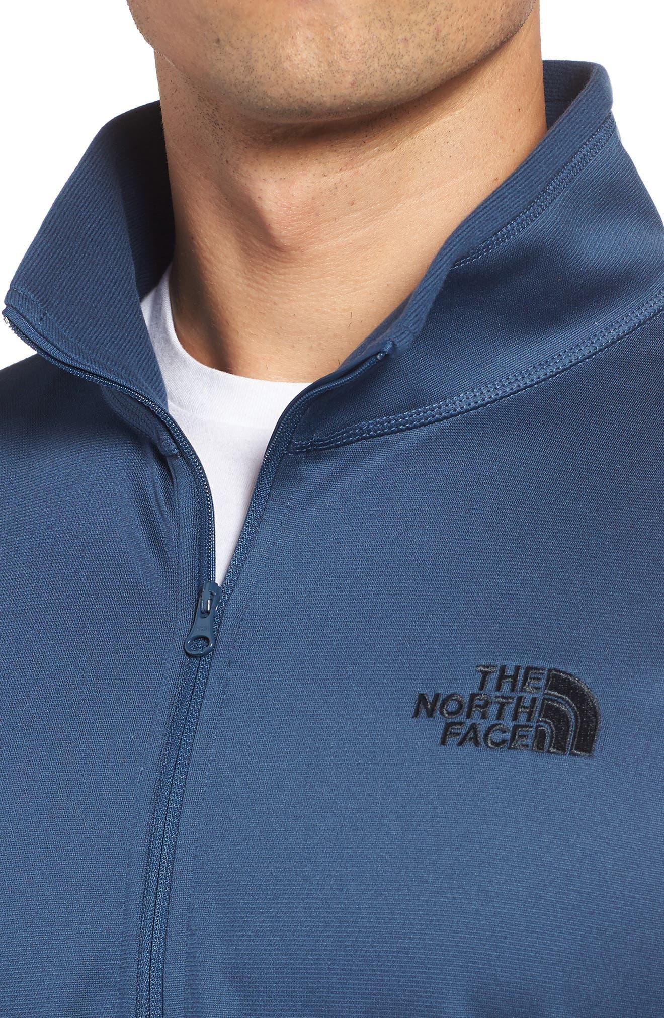 Alternate Image 4  - The North Face Glacier Zip Pullover
