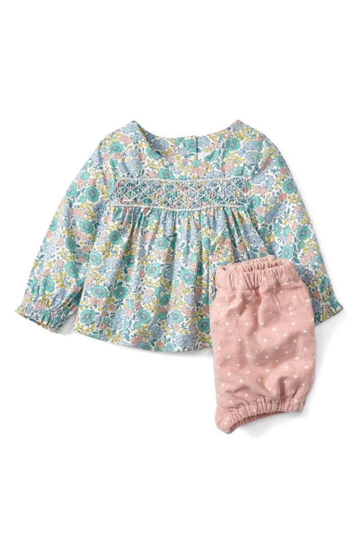 Mini boden pretty print tunic bloomers set baby girls for Shop mini boden