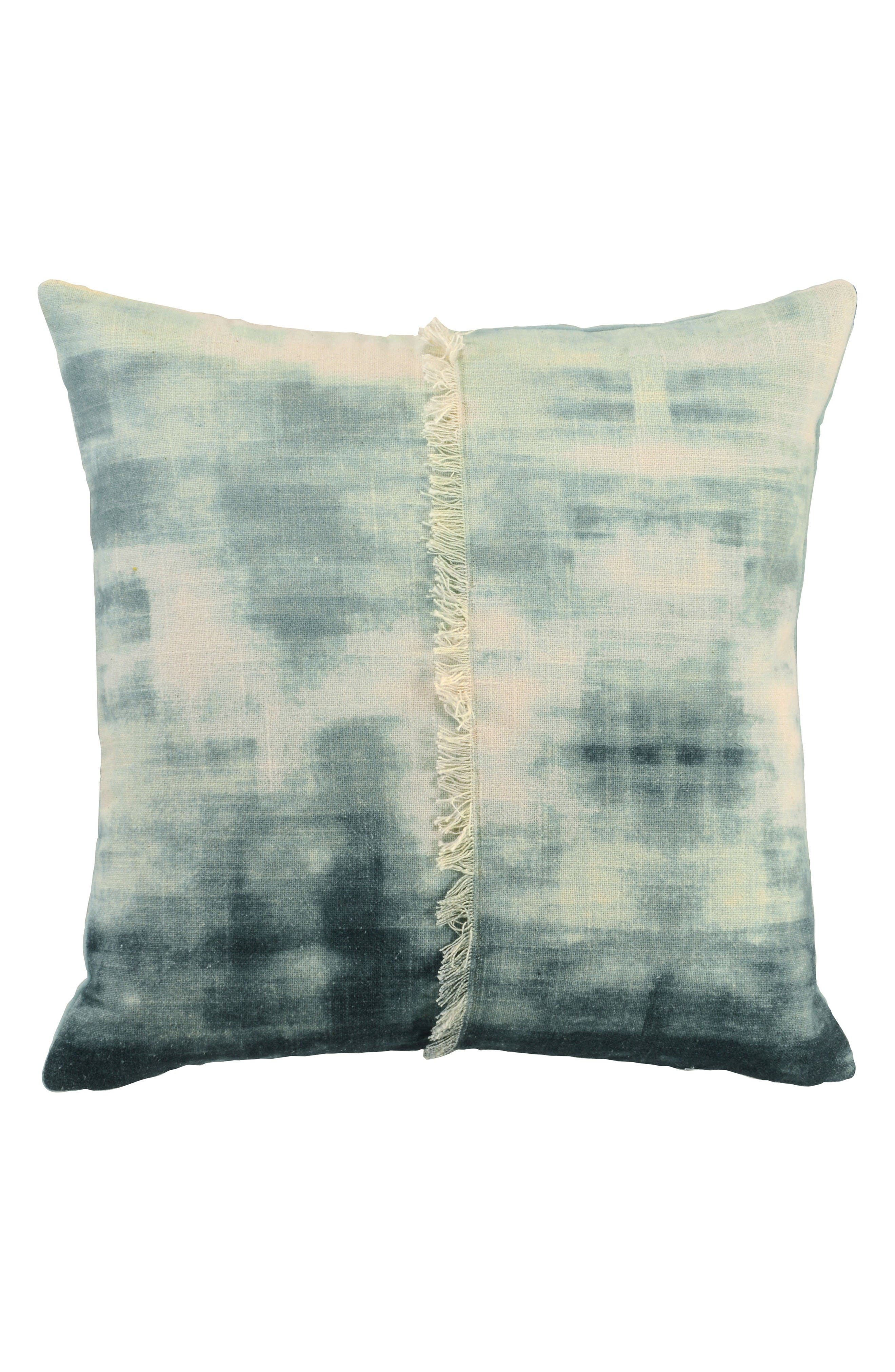 Kino Tidal Accent Pillow,                             Main thumbnail 1, color,                             Seaglass Blue