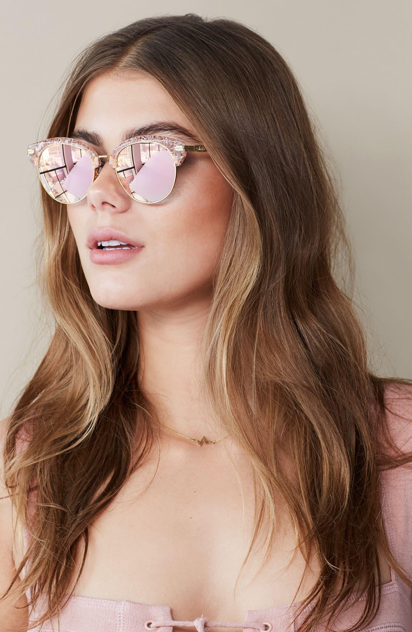 Alternate Image 3  - Sonix Bellevue 50mm Mirrored Sunglasses