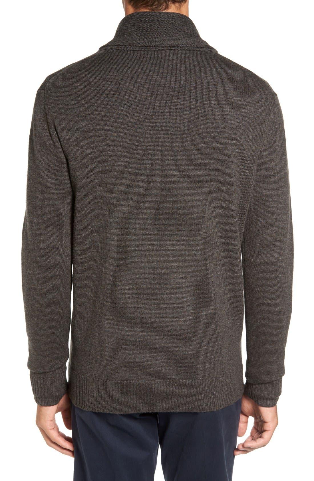 Alternate Image 2  - Rodd & Gunn PT Chevalier Shawl Collar Sweater