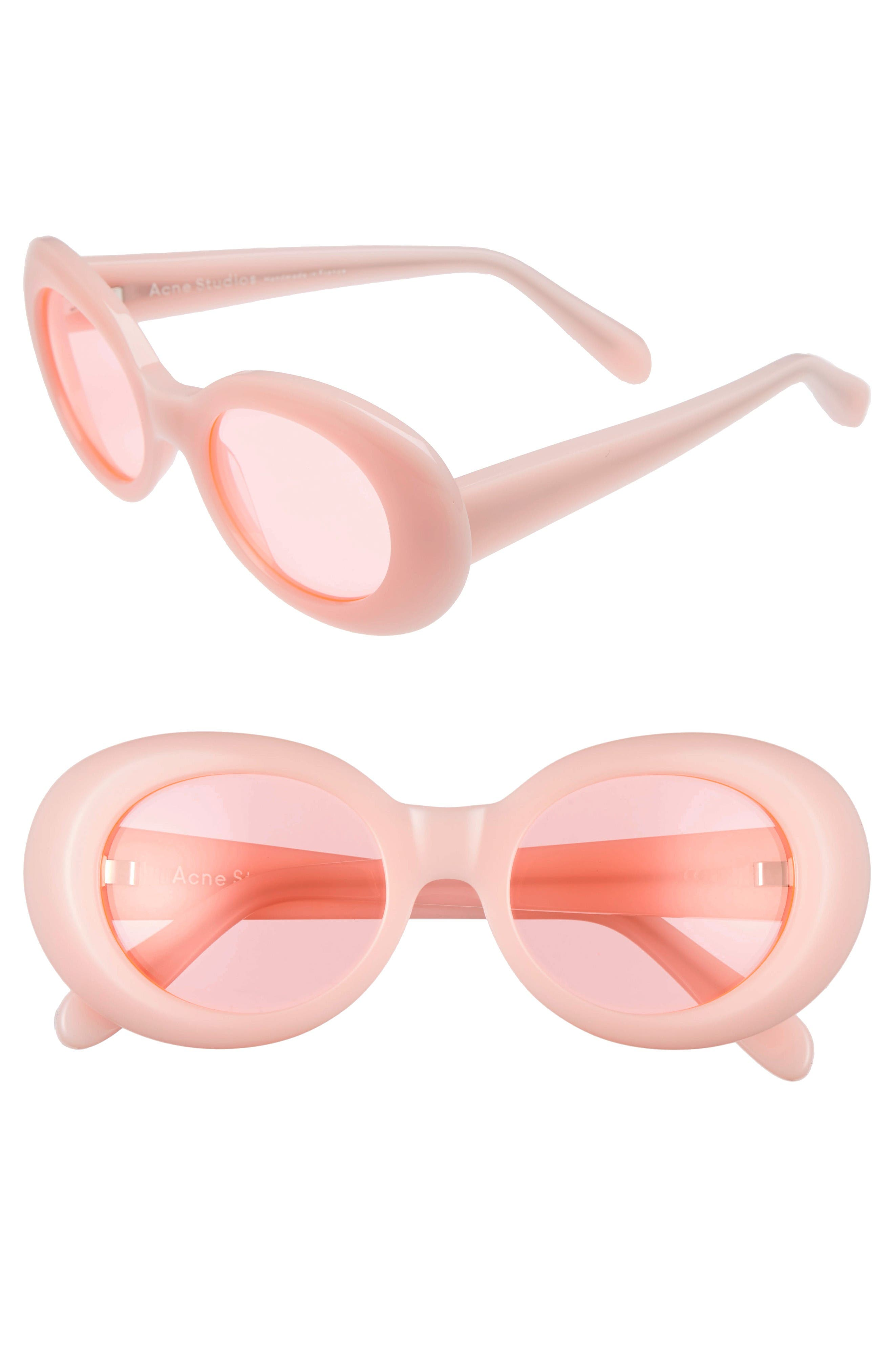 Alternate Image 1 Selected - ACNE Studios Mustang 47mm Oval Sunglasses