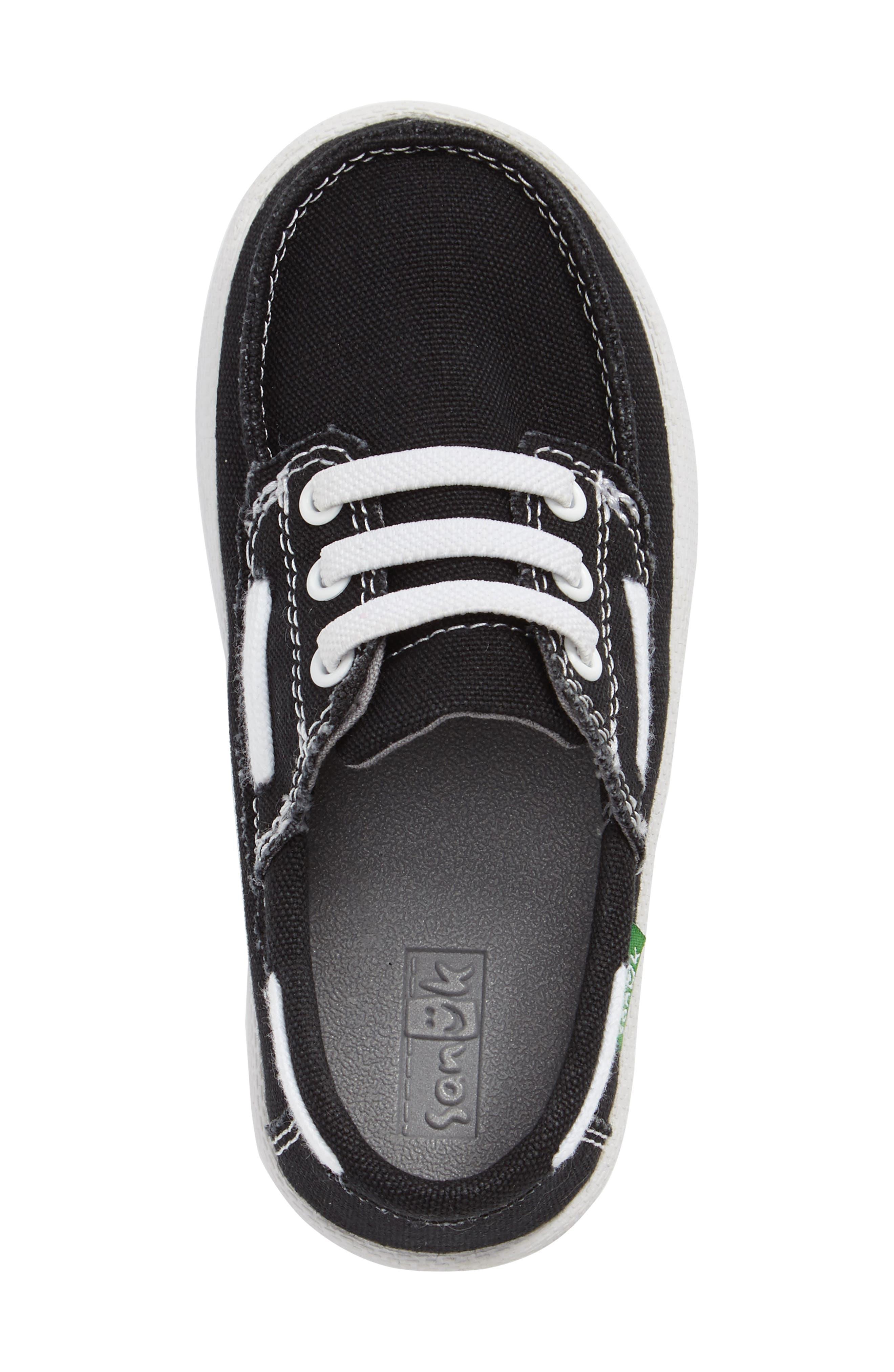 Lil Deck Hand Slip-On Sneaker,                             Alternate thumbnail 2, color,                             Black