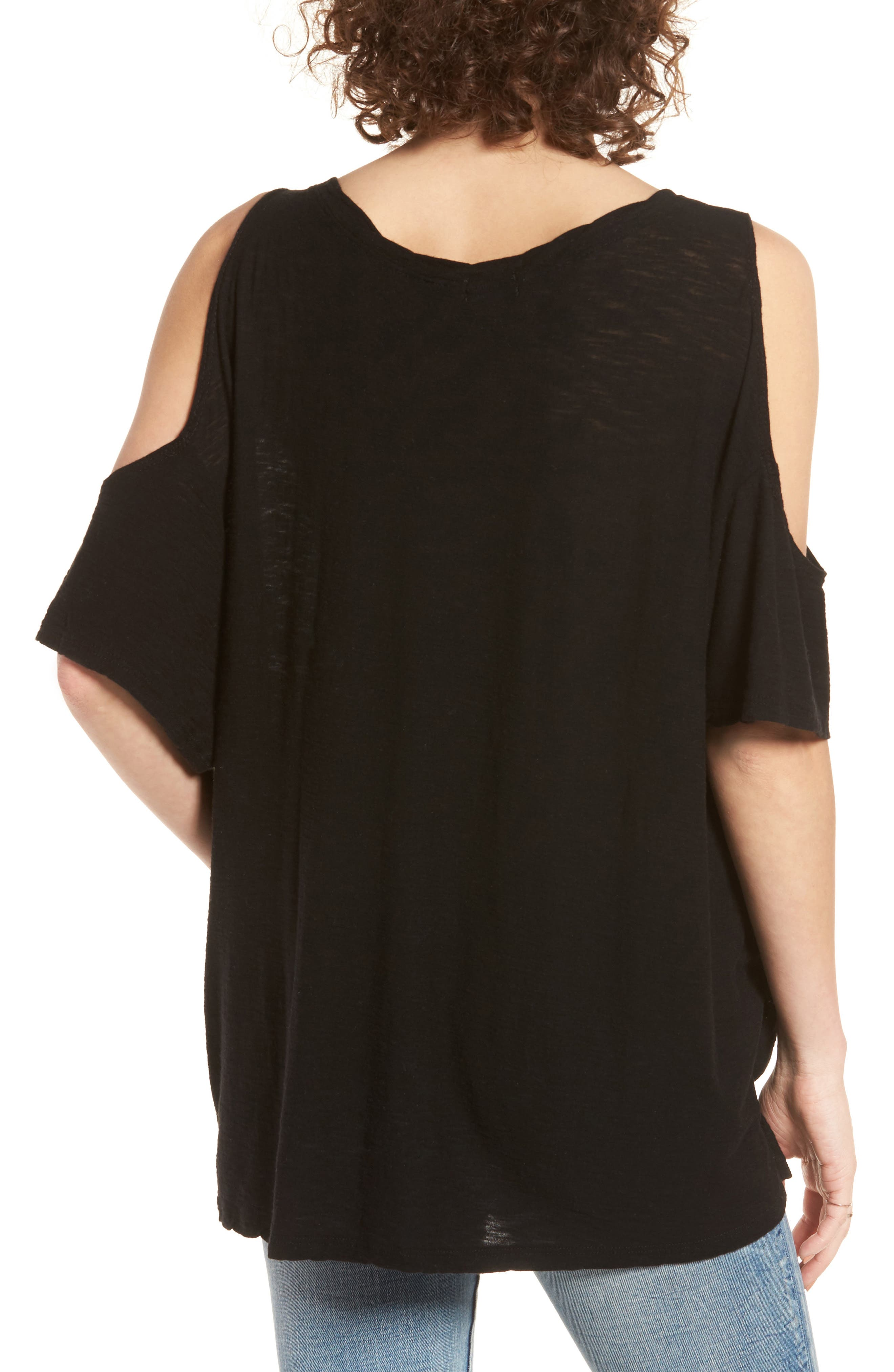 Alternate Image 2  - Michelle by Comune Frisco Cold Shoulder Tee