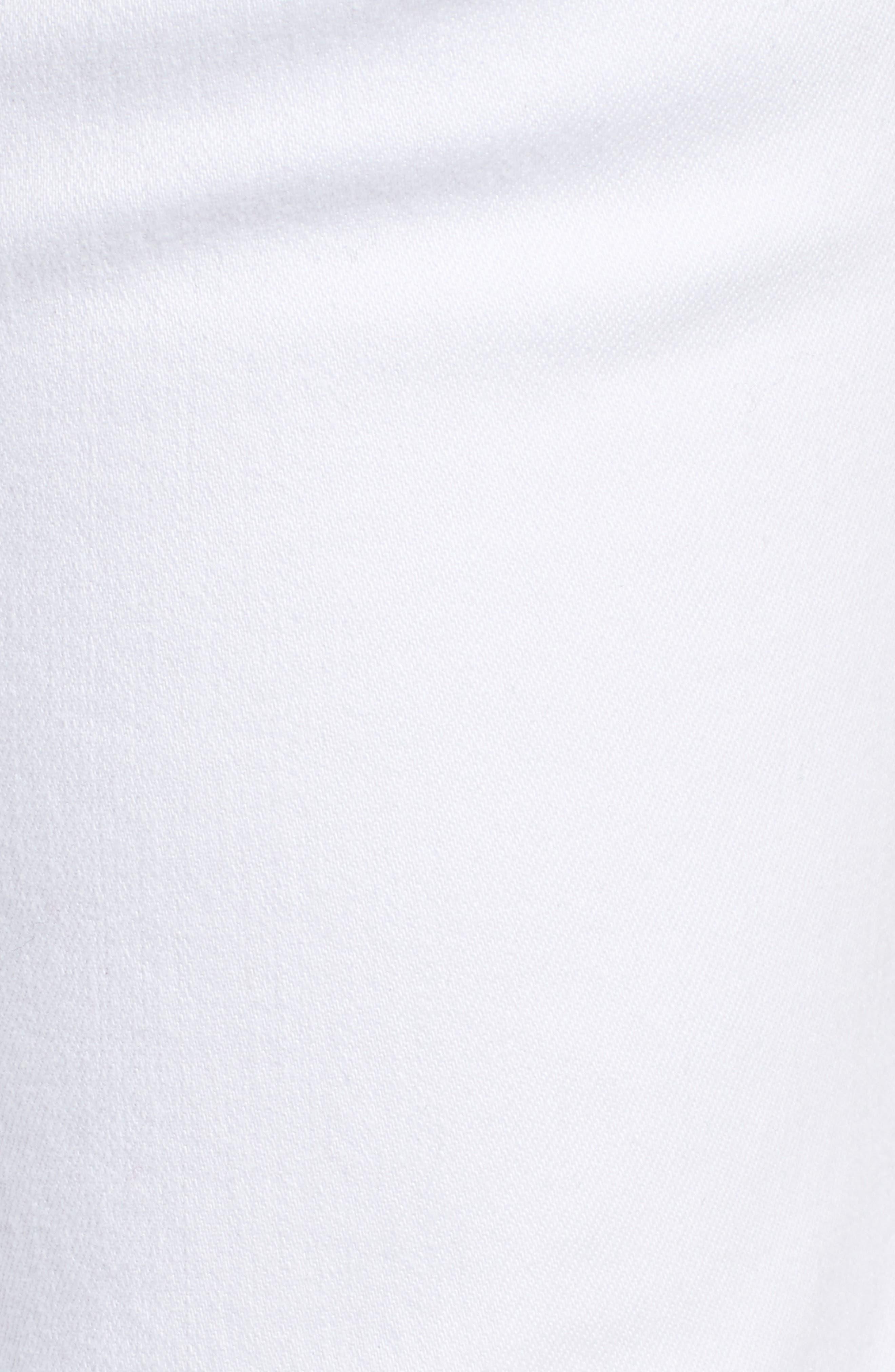 Catherine Stretch Boyfriend Jeans,                             Alternate thumbnail 6, color,                             White
