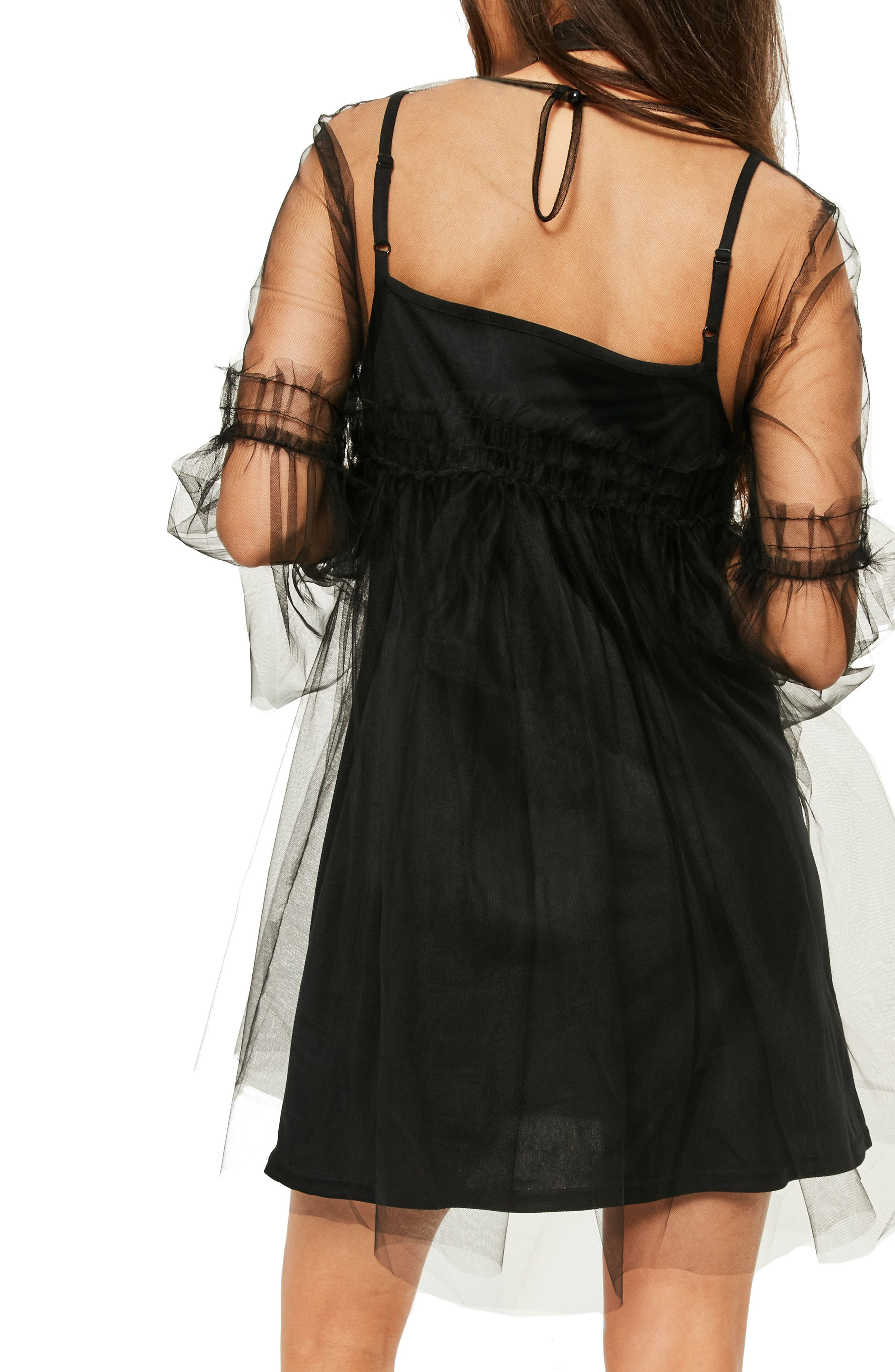 Alternate Image 3  - Missguided Tulle Mesh Minidress
