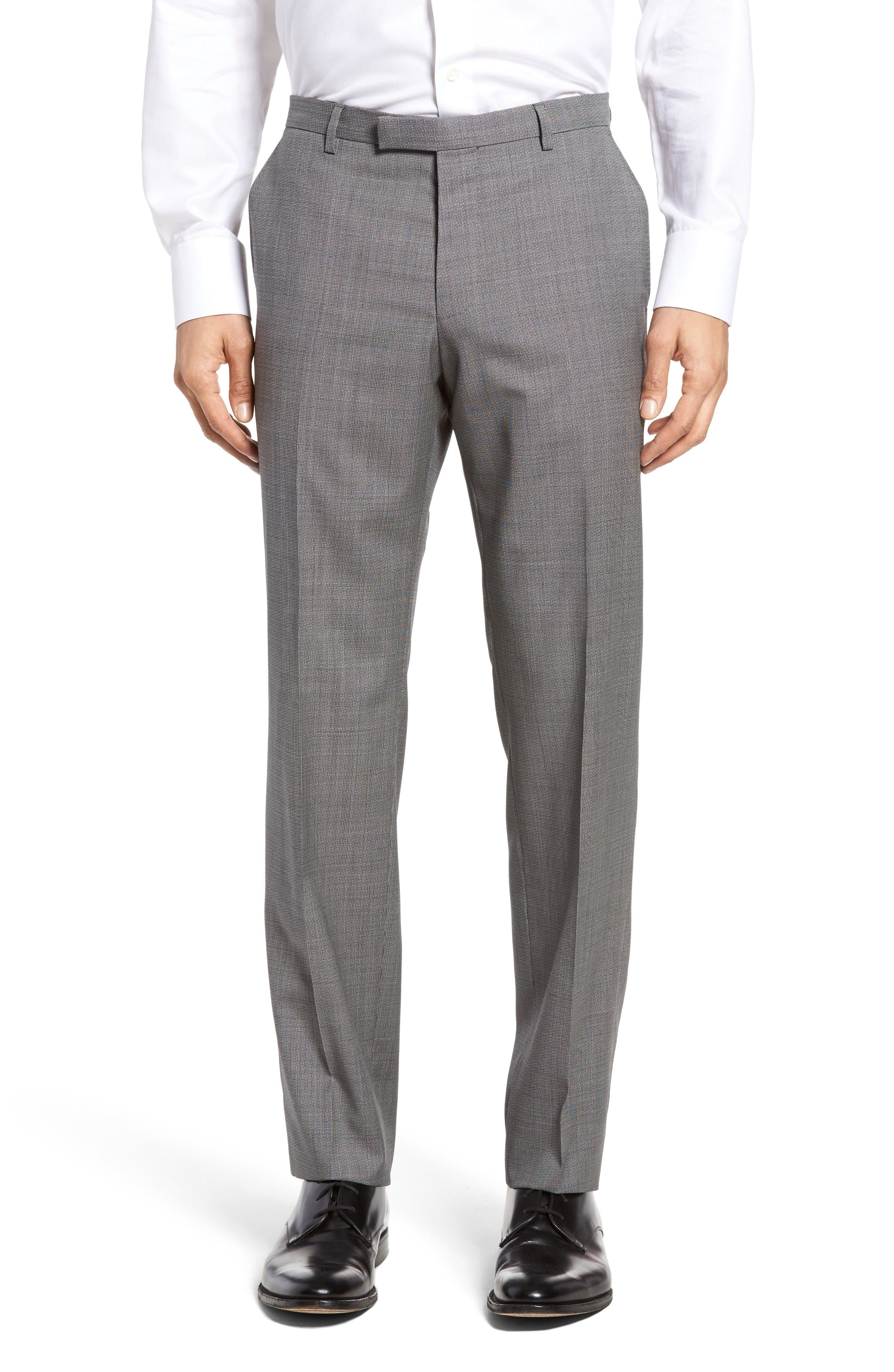 Alternate Image 4  - BOSS Janon/Lenon Trim Fit Solid Wool Suit
