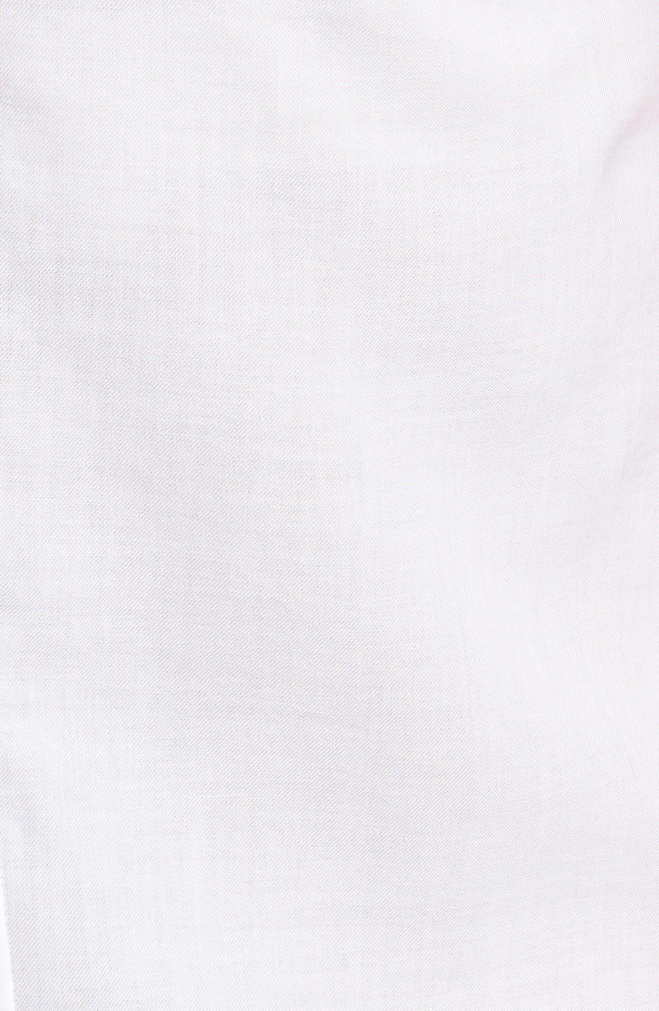 Austen Button Front Tank,                             Alternate thumbnail 5, color,                             True White